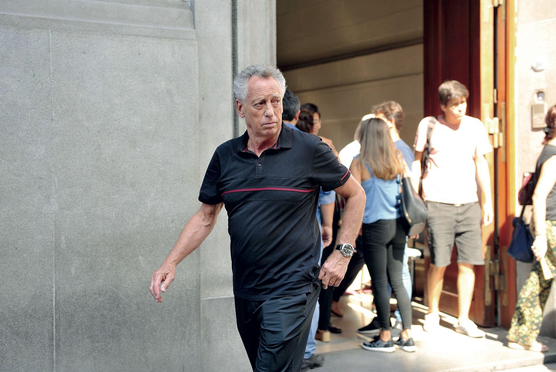 Quique Wolff acompañó a su colega Enrique Sacco (Fotos: Enrique García Medina y Maxi Vernazza/GENTE)