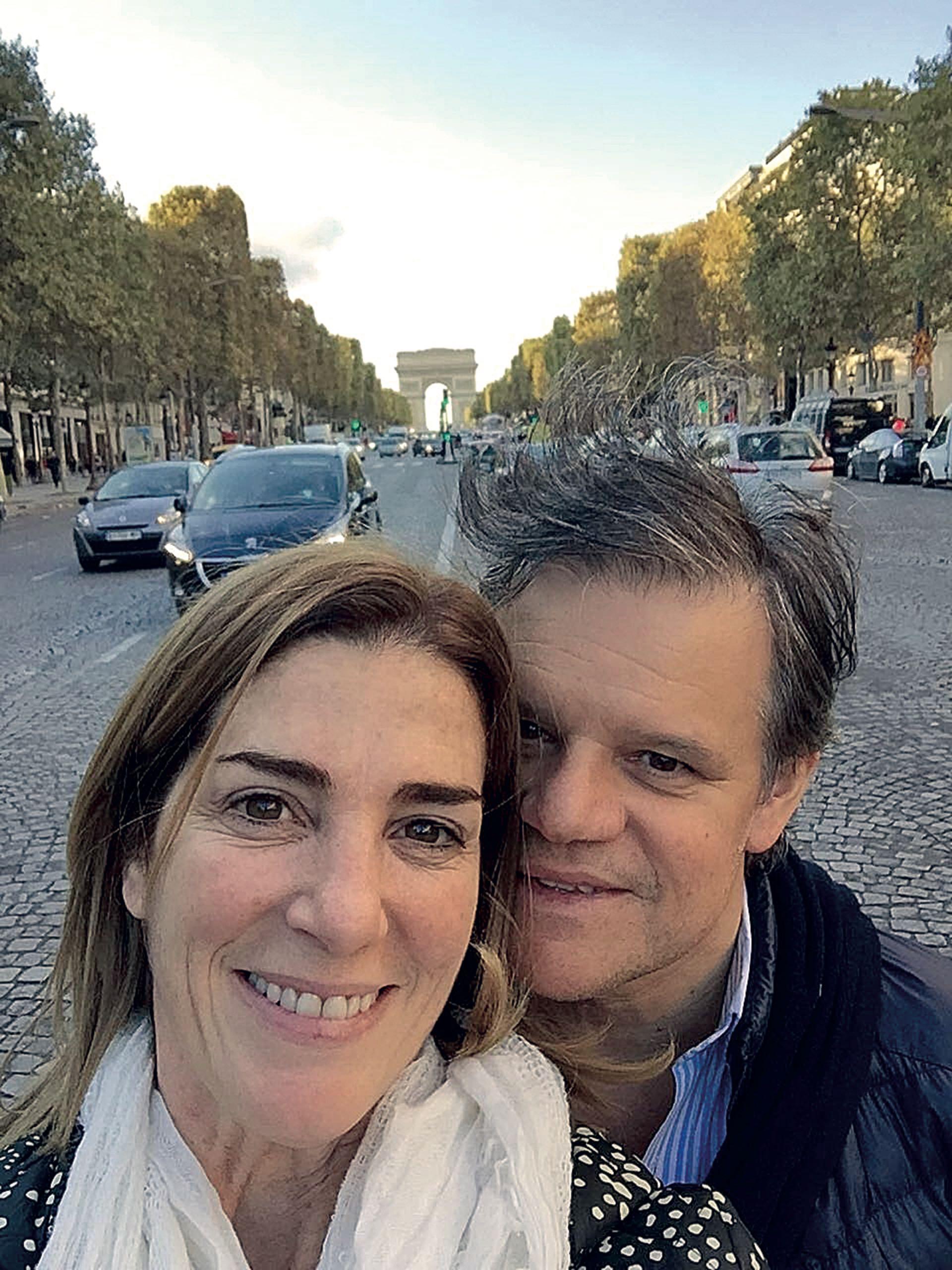 Ambos amaban París. Y hacia allí fueron juntos en el primer viaje largo que hicieron como pareja. (Foto Instagram)
