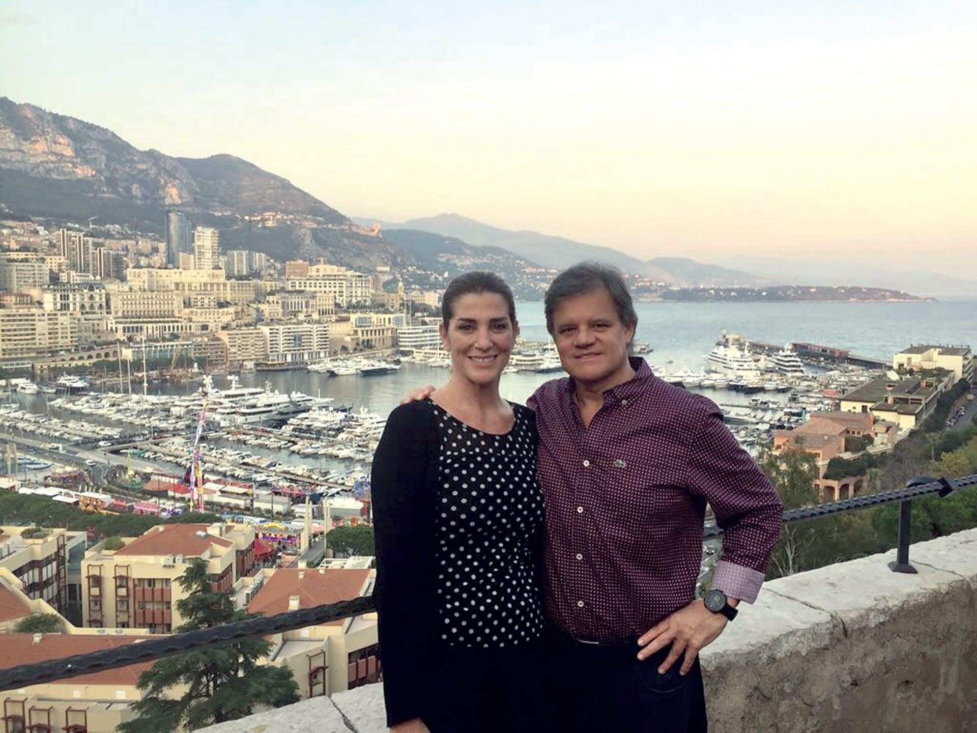 El último viaje que hicieron juntos, a Mónaco. (Foto Instagram)