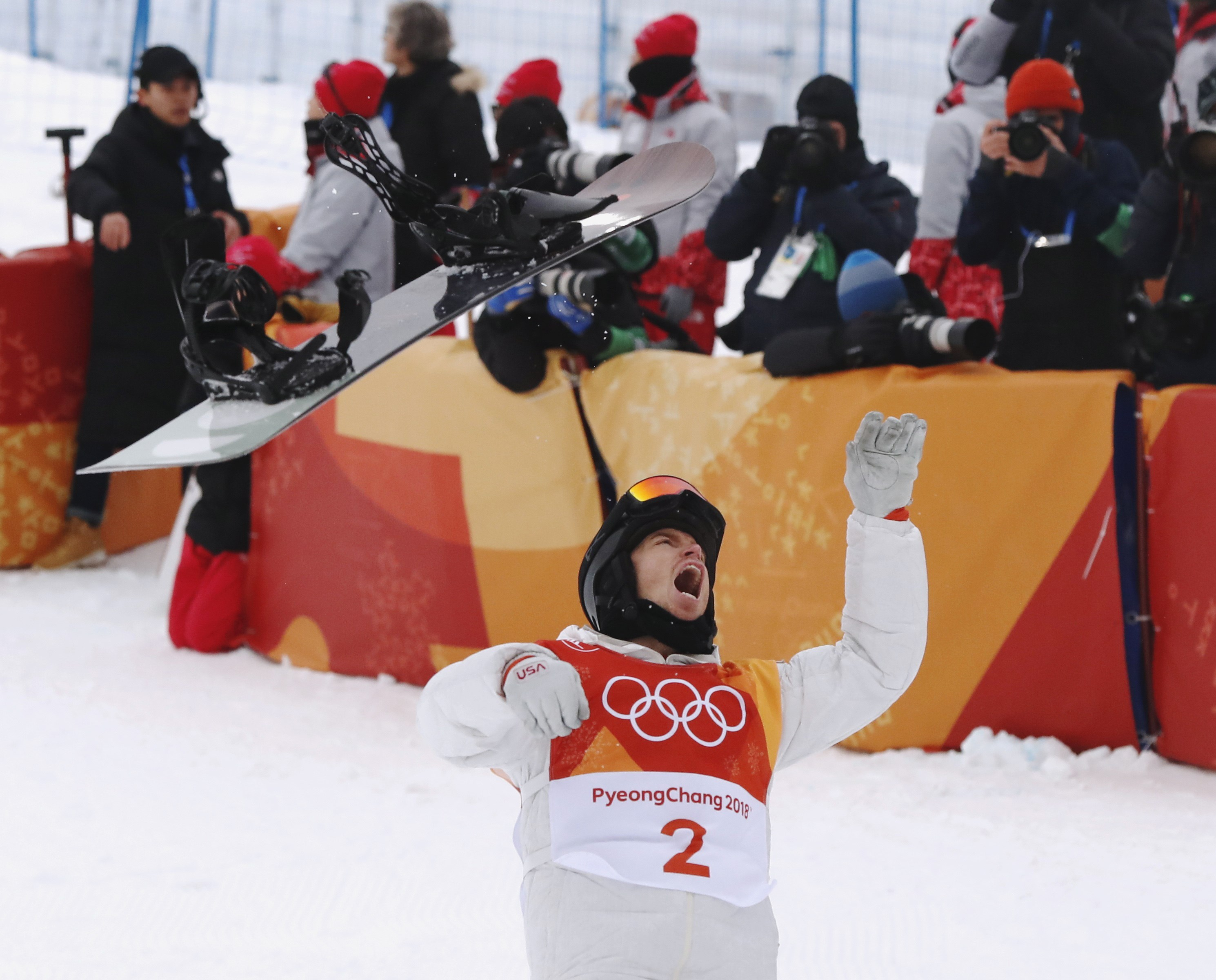 Shaun White (REUTERS/Issei Kato)
