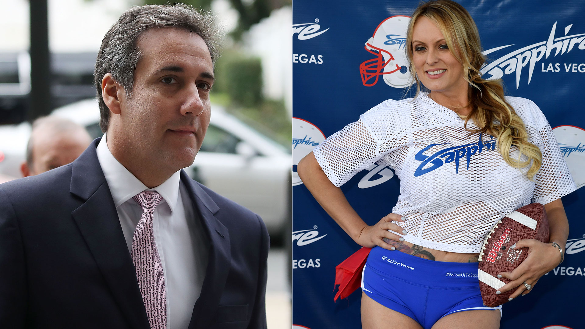 Michael Coheny Stormy Daniels (AFP)