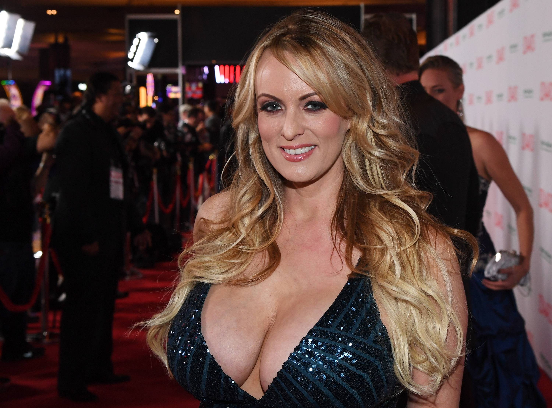 Stephanie Cliffordes Stormy Daniels en la industria pornográfica(Getty Images/AFP