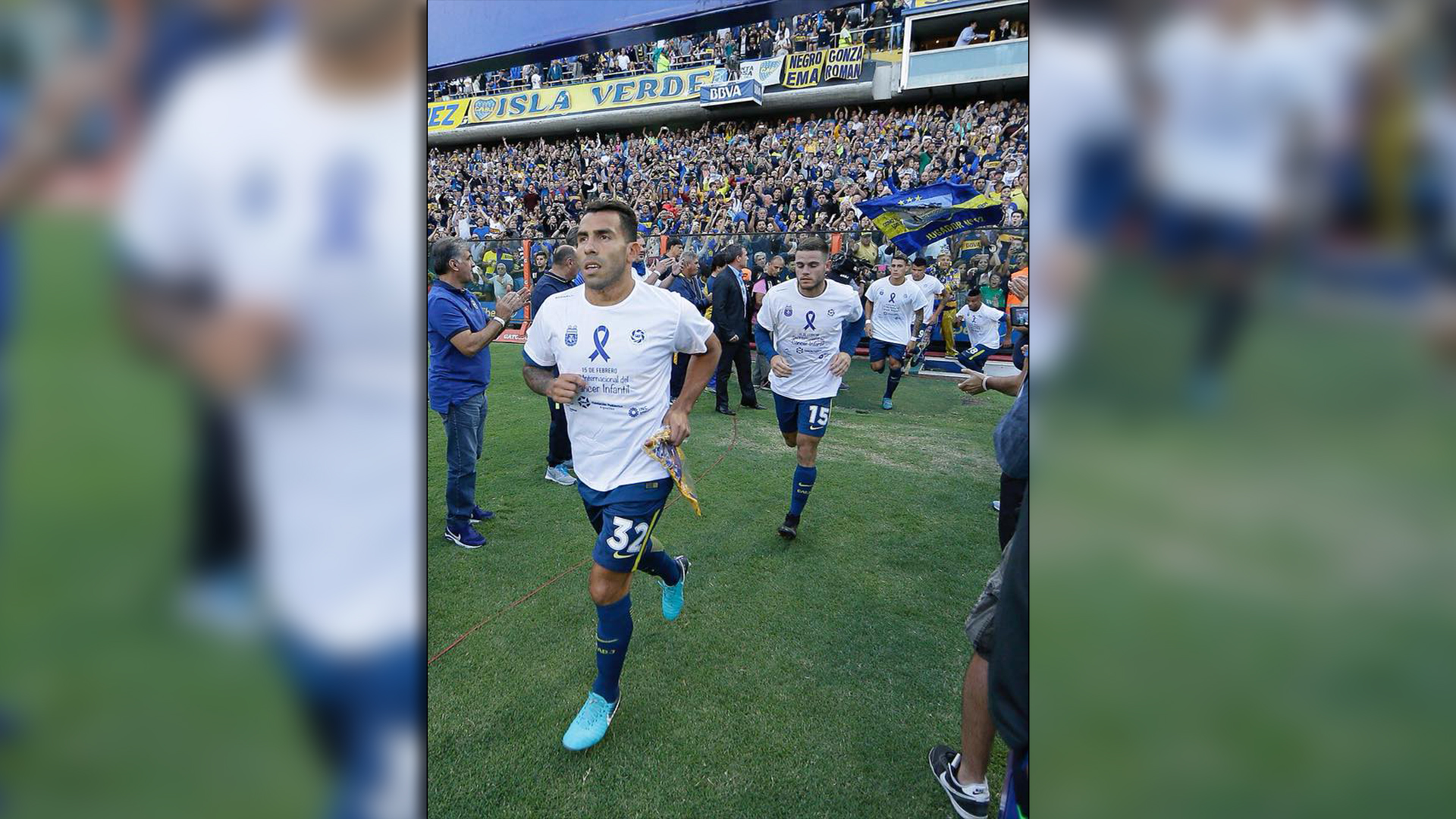 El pasado fin de semana, los principales equipos de primera división salieron a la cancha con la remera de la campaña de Fupea