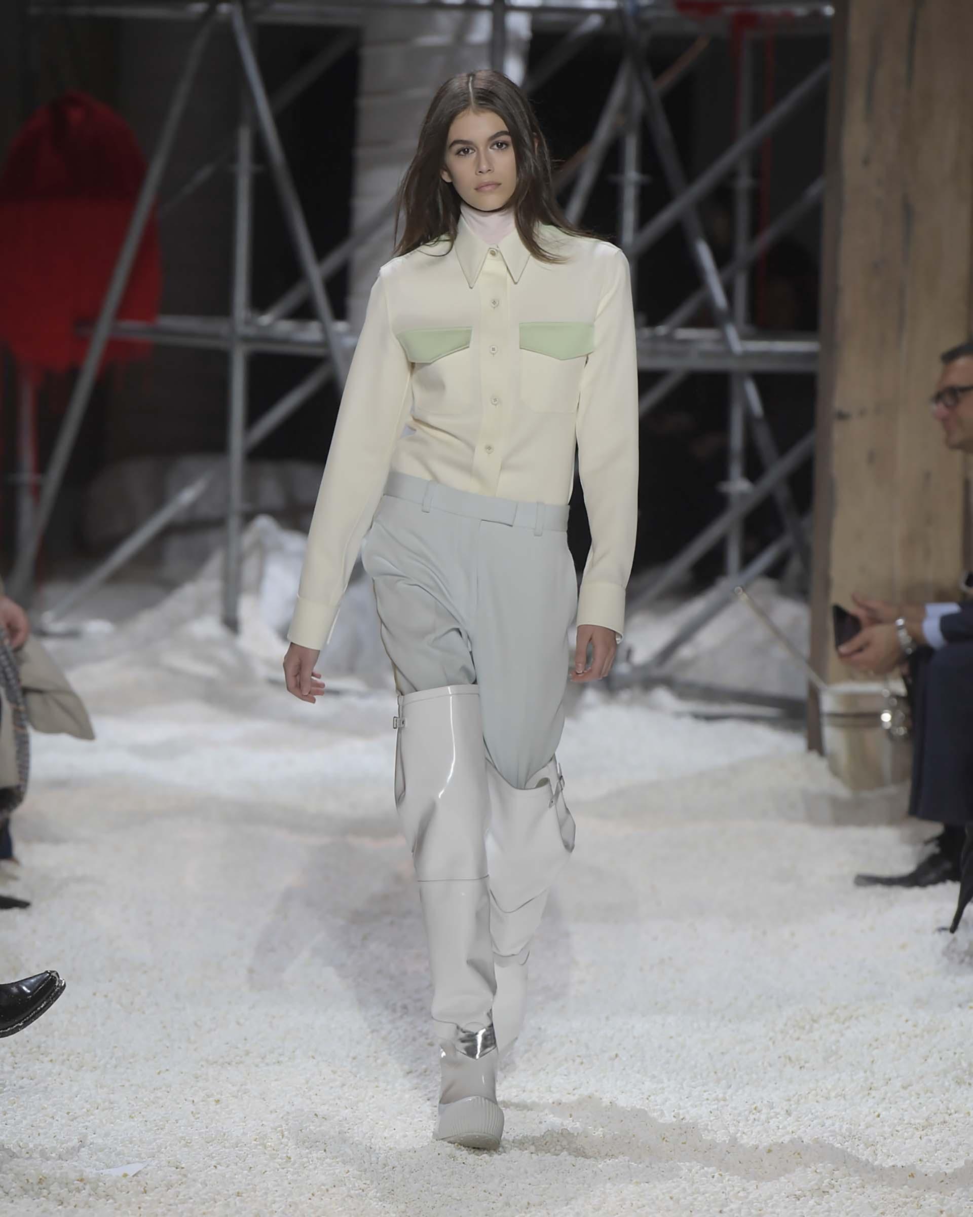 Kaia Gerber, otra vez elegida por Calvin Klein