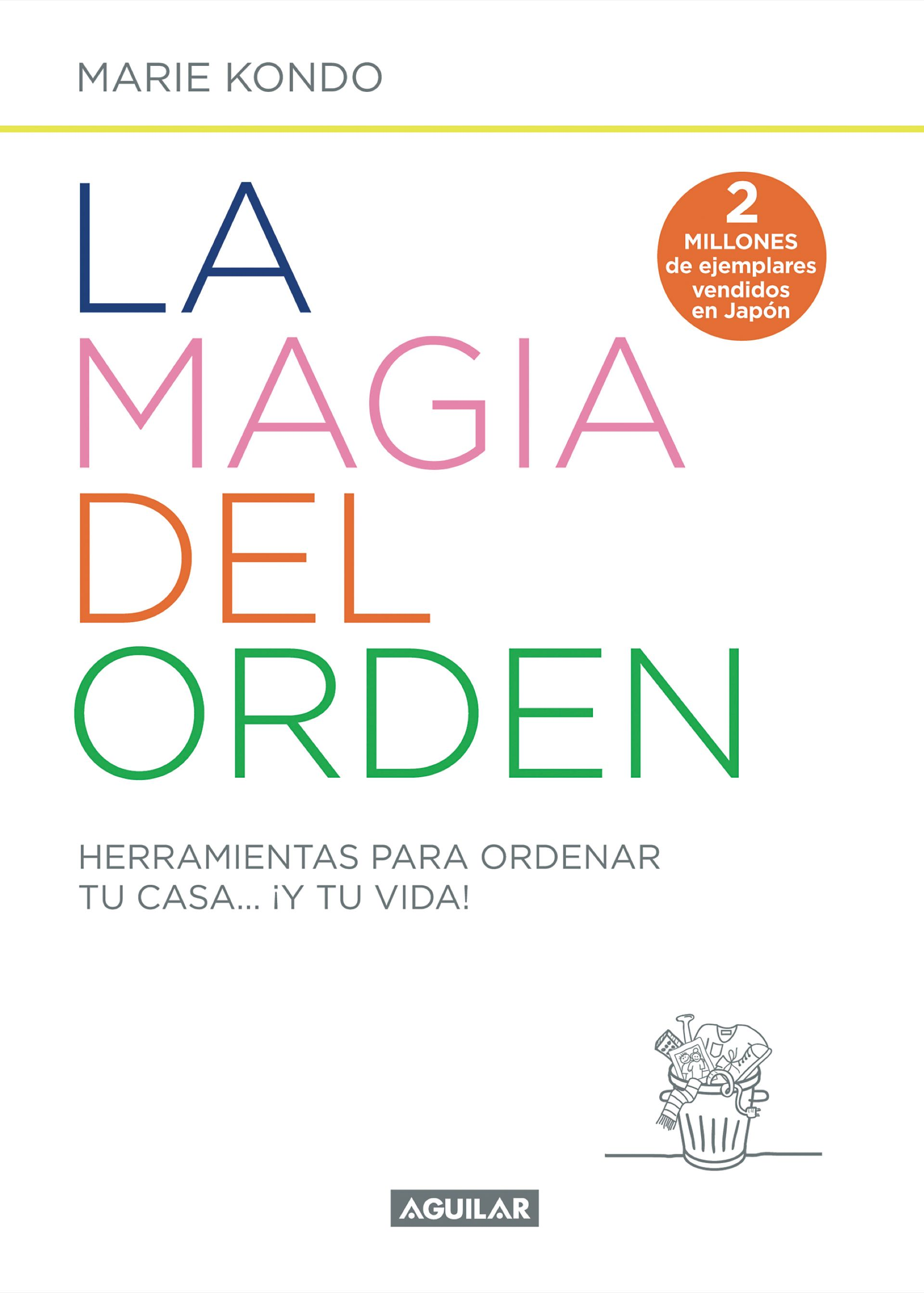 La magia del orden, de Marie Kondo.