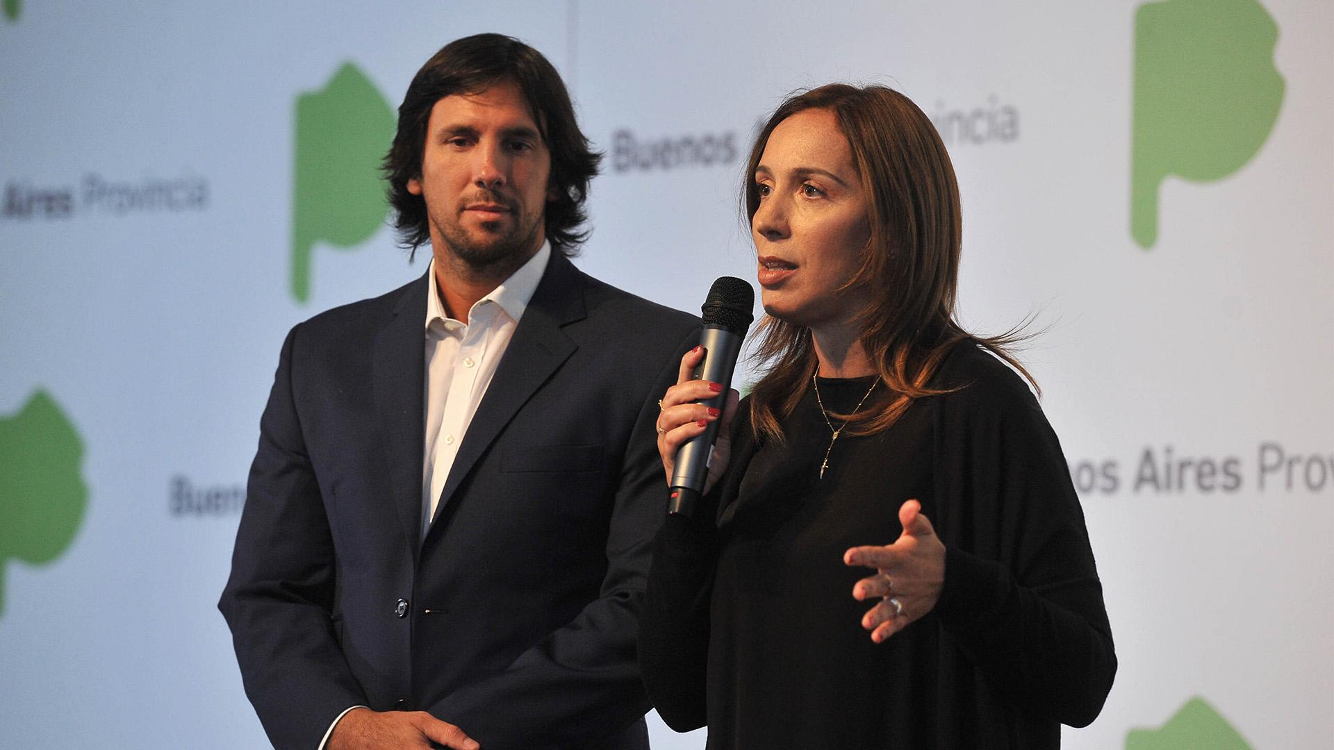 La gobernadora María Eugenia Vidal convocó para hoy a los gremios docentes.