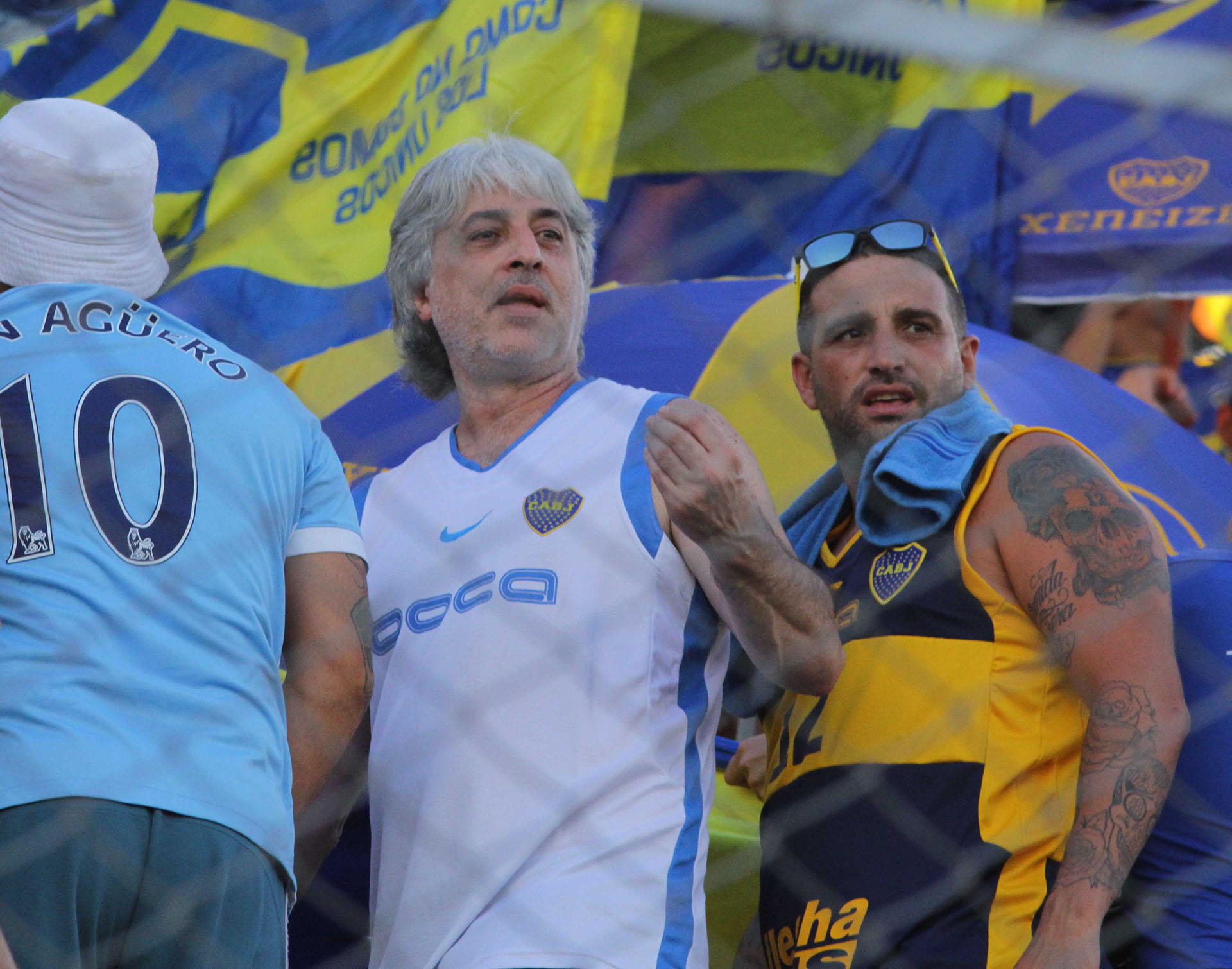 El Rafa Di Zeo, anfitrión de los rusos en Buenos Aires
