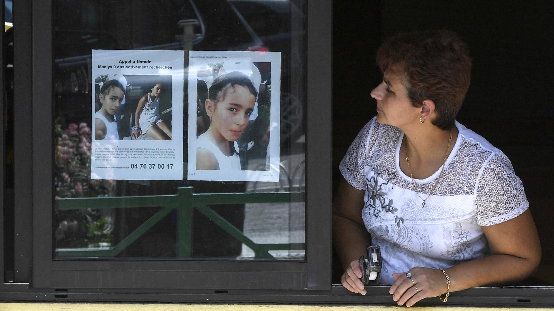Maelys de Araujo estaba desaparecida desde agosto (AFP PHOTO / PHILIPPE DESMAZES)