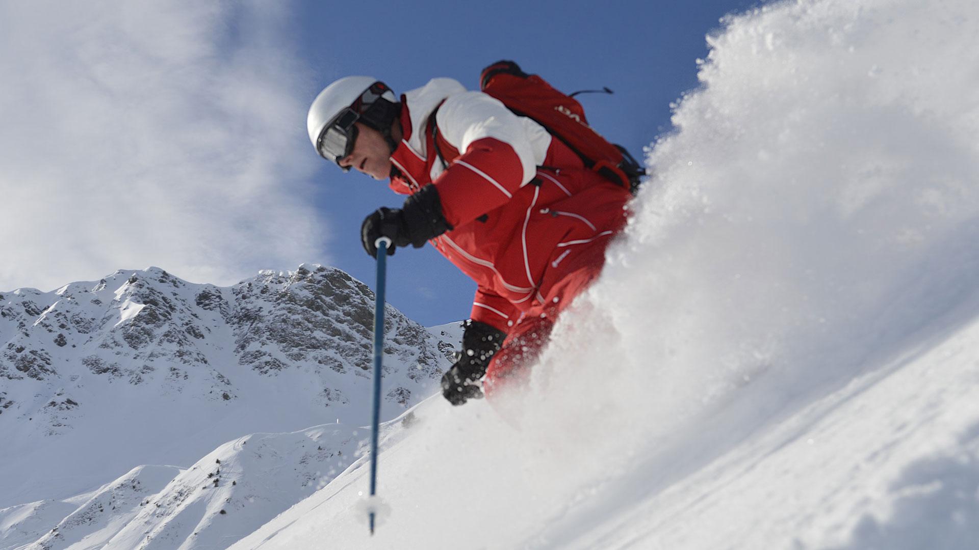 El snowpark de Val Thorens cuenta con 70 000 m² de extensión.