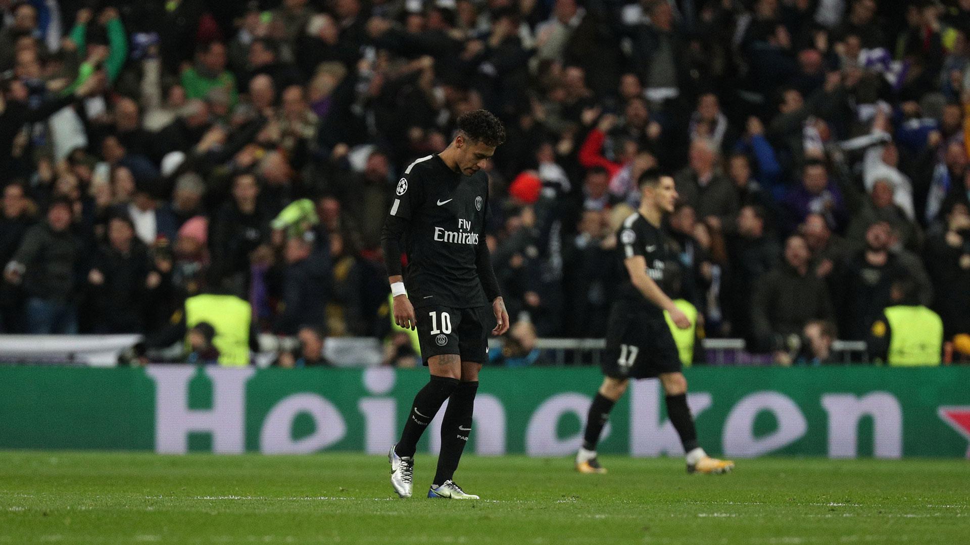 Neymar no tuvo un buen partido ante el Real Madrid por la Champions League (Reuters)