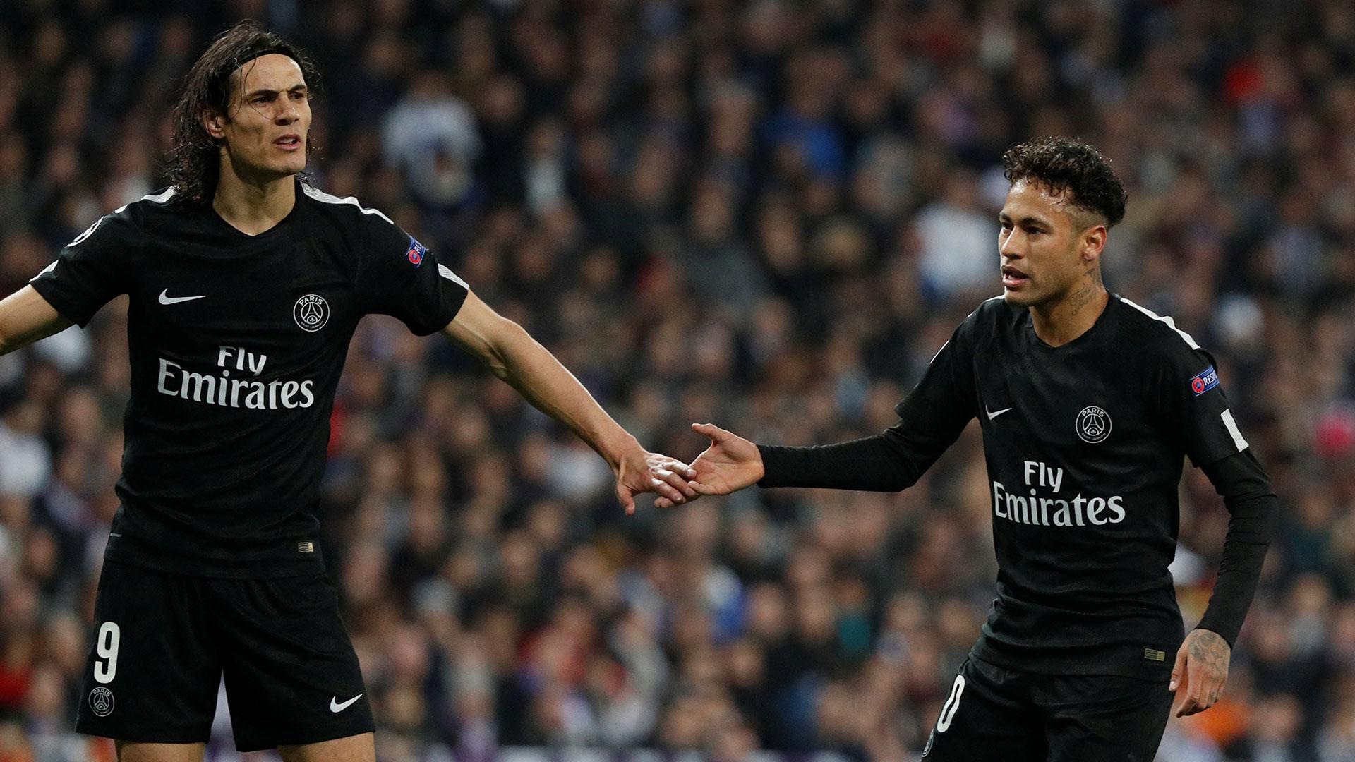 Neymar fue una de las figuras de la primer mitad (Reuters)