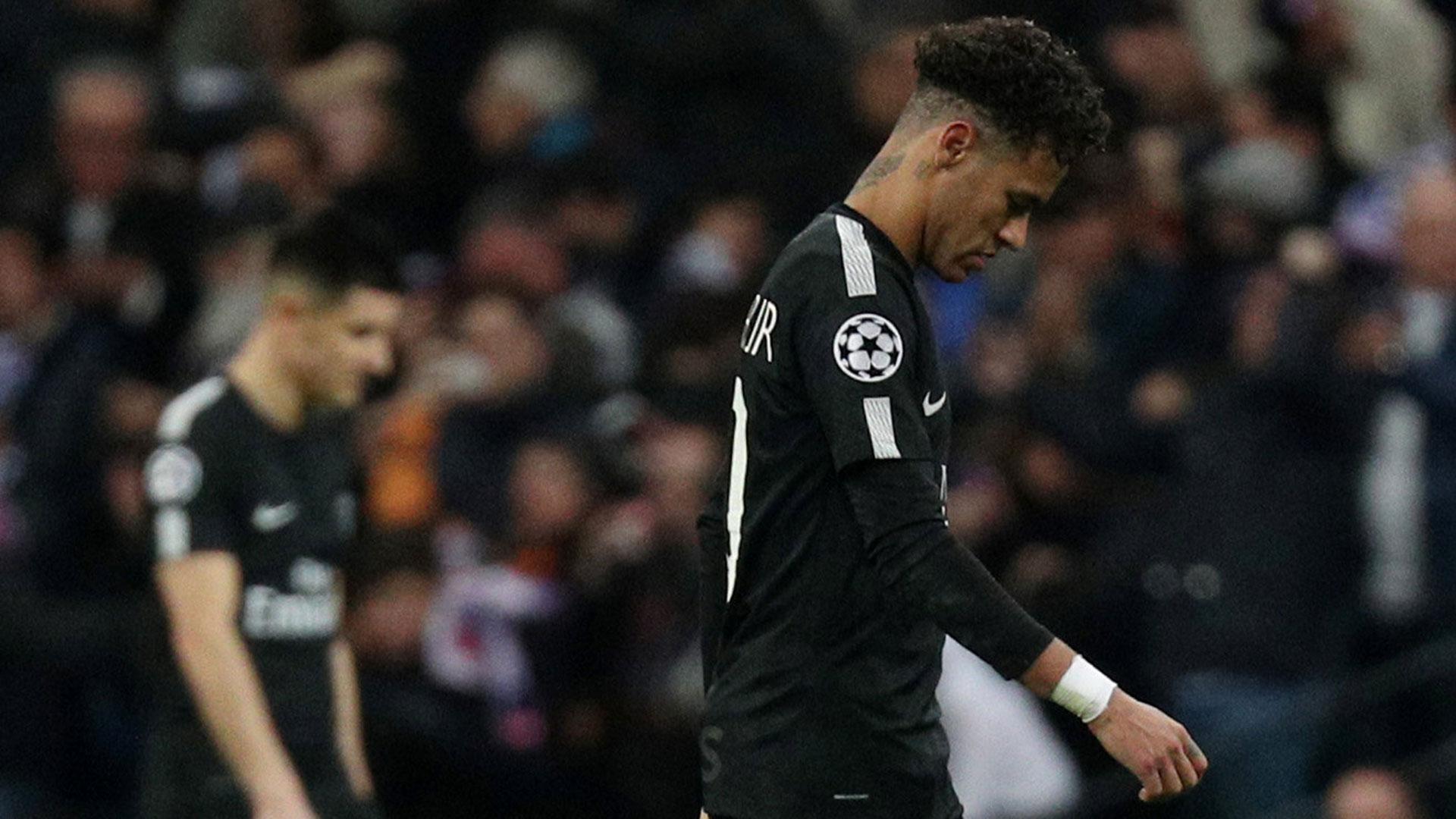 Neymar completó un segundo tiempo que no estuvo a la altura de sus condiciones (Reuters)