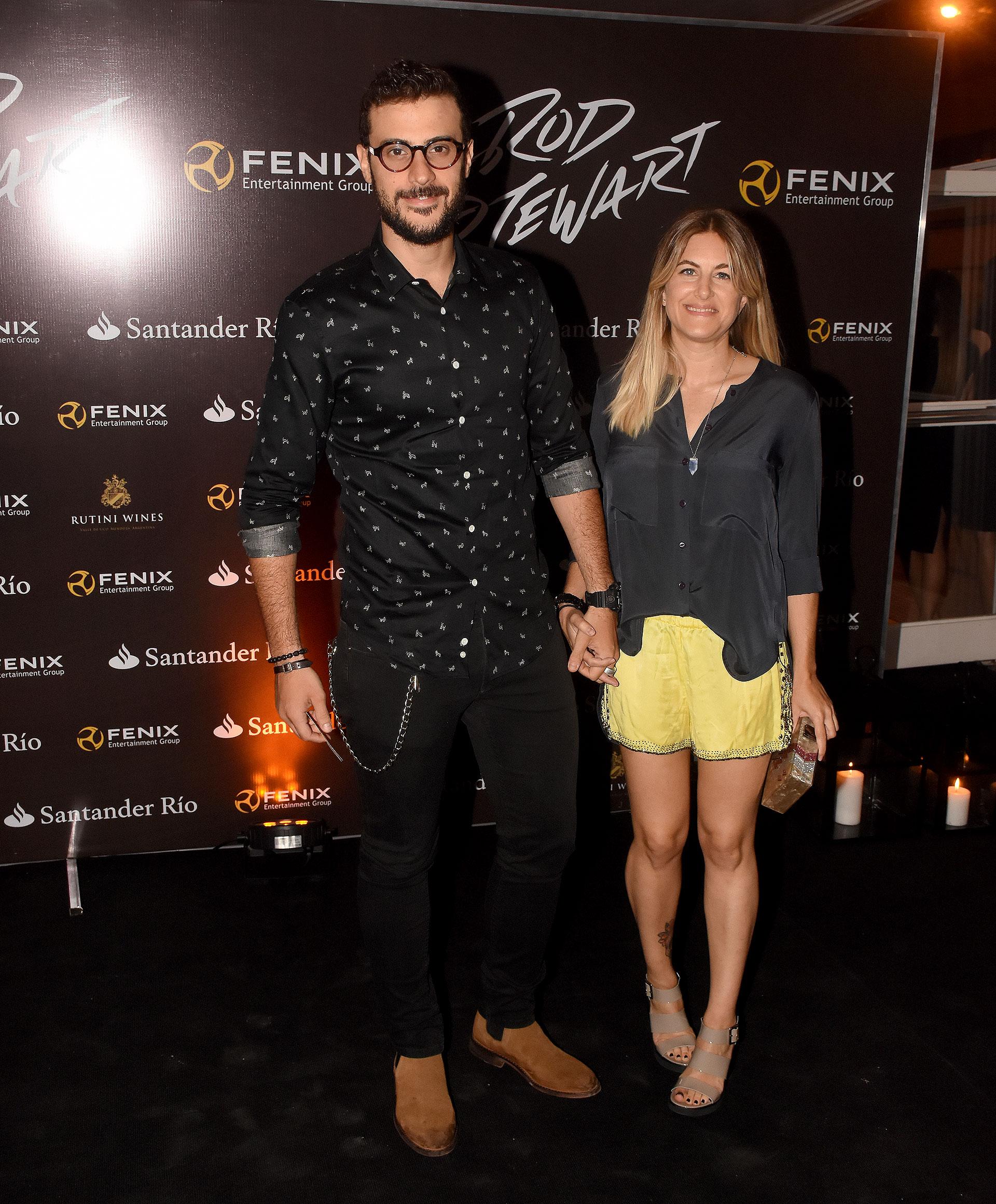 Dieron Leuco y Daniela Haissiner