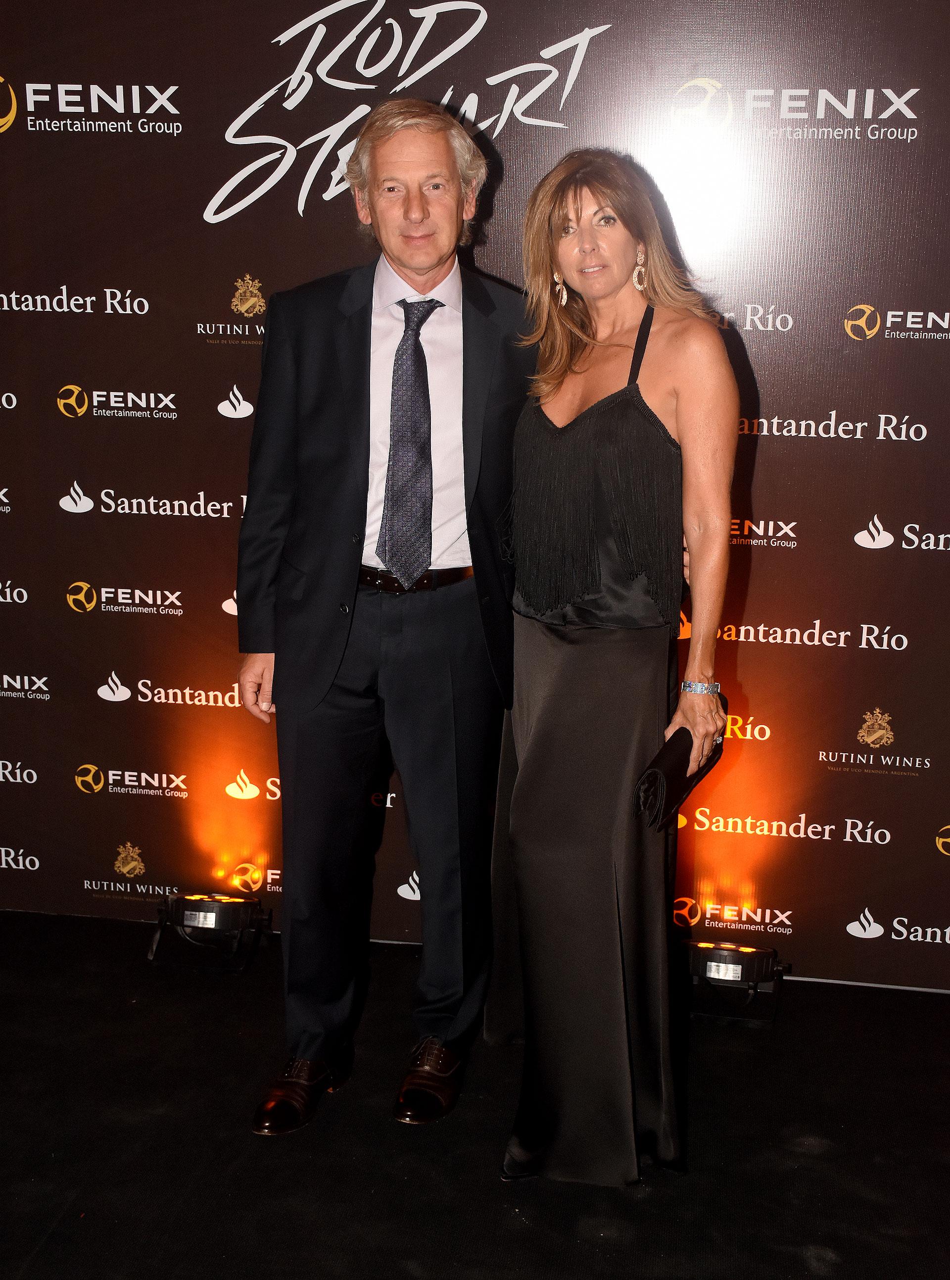 Marcelo Longobardi y Laura Palermo
