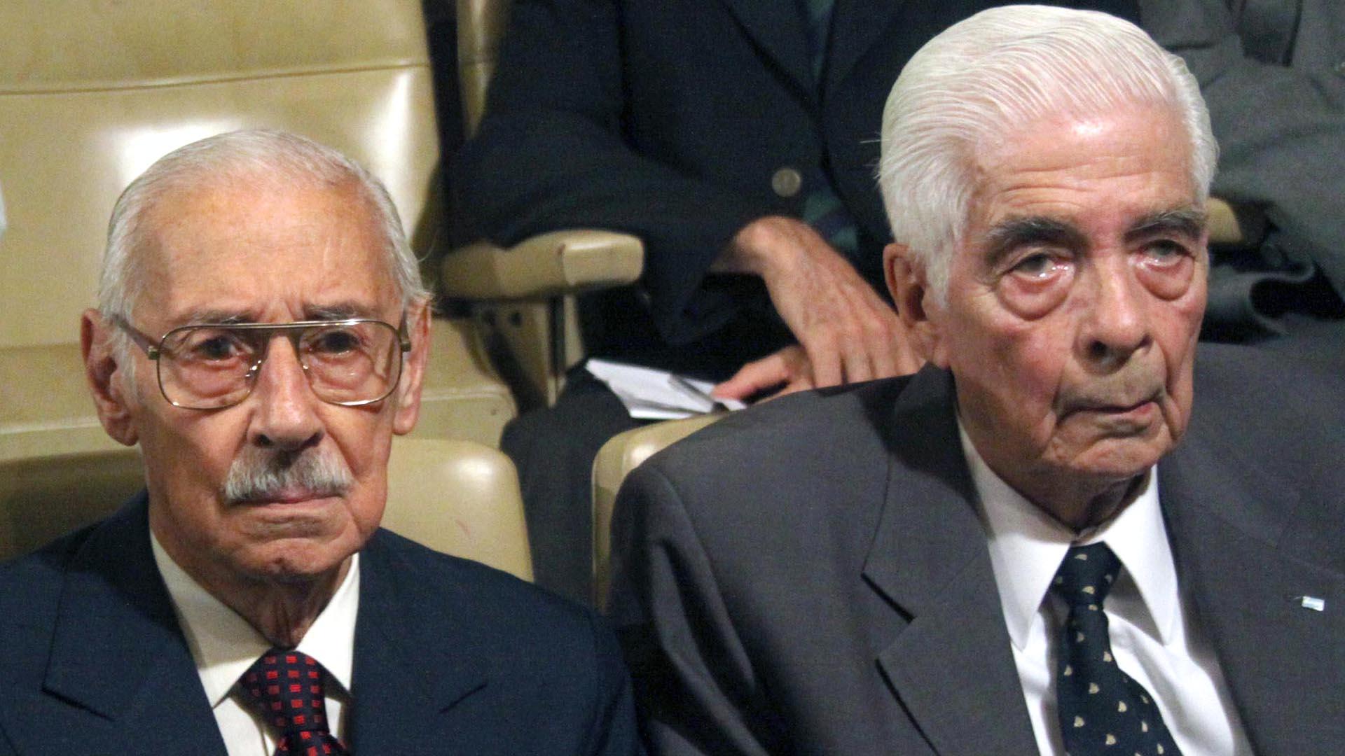 Jorge Rafael Videla y Menéndez (Foto: NA)