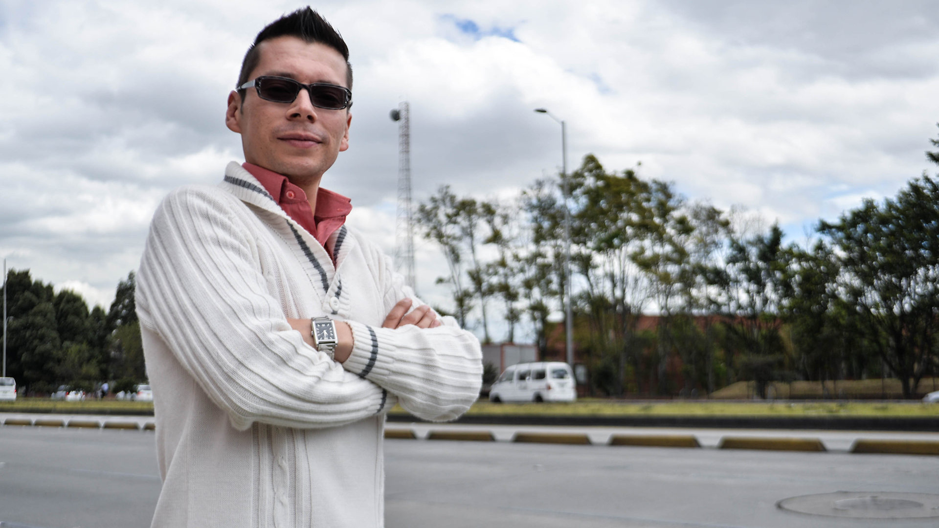 El profesor colombiano Luis Miguel Bermúdez