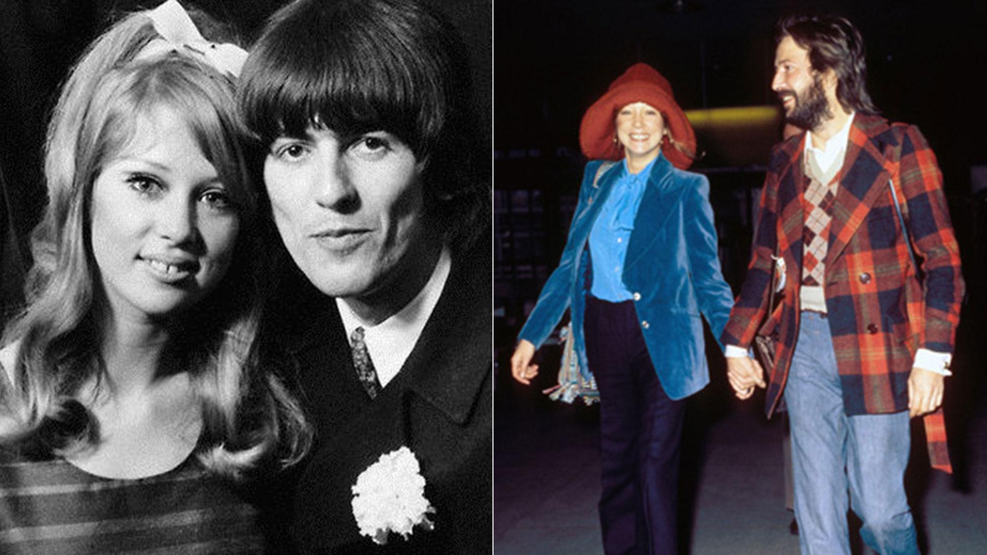 Su esposa Patty lo dejó por Eric Clapton, quien era su gran amigo