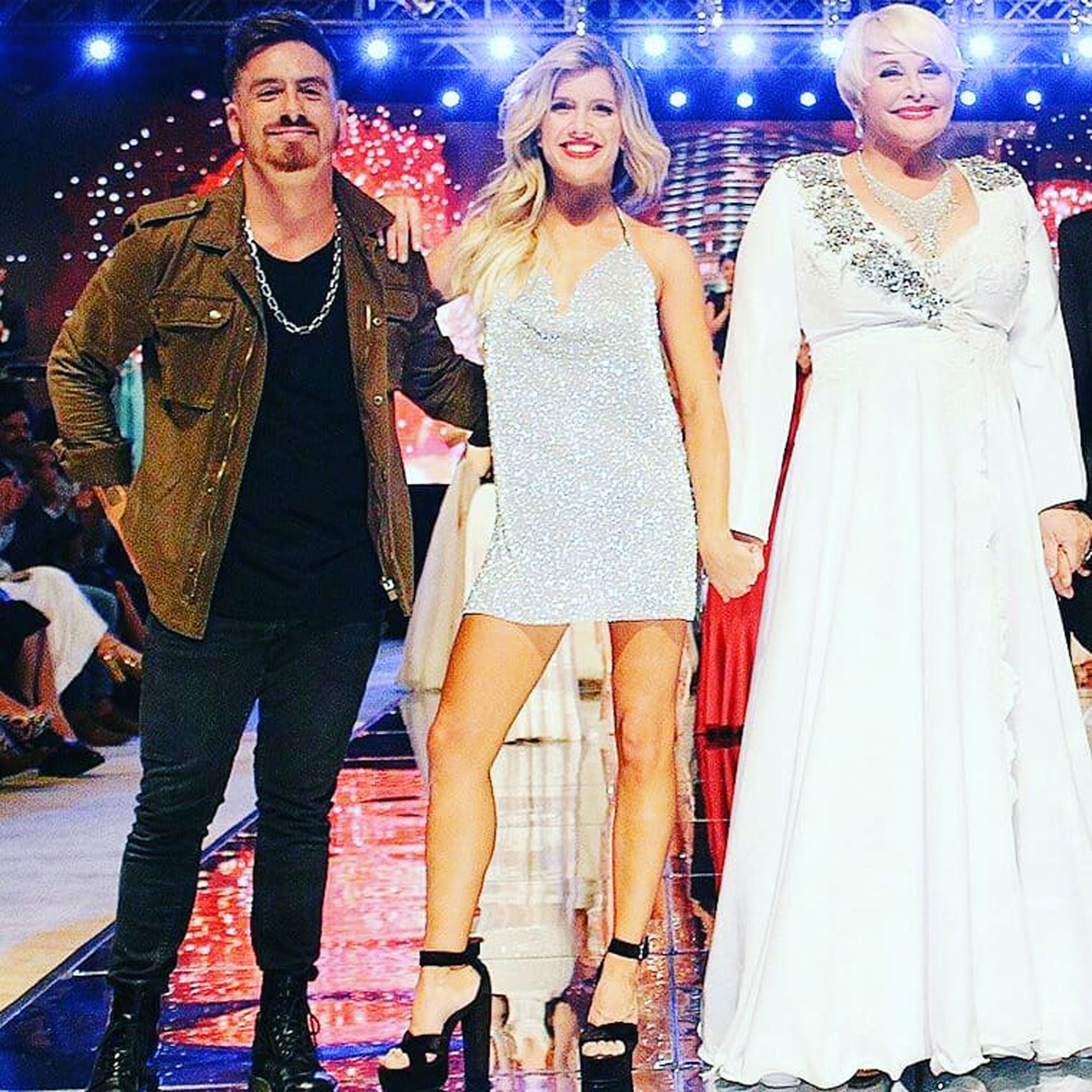 Federico, Laura y Carmen. (Foto: Instagram)
