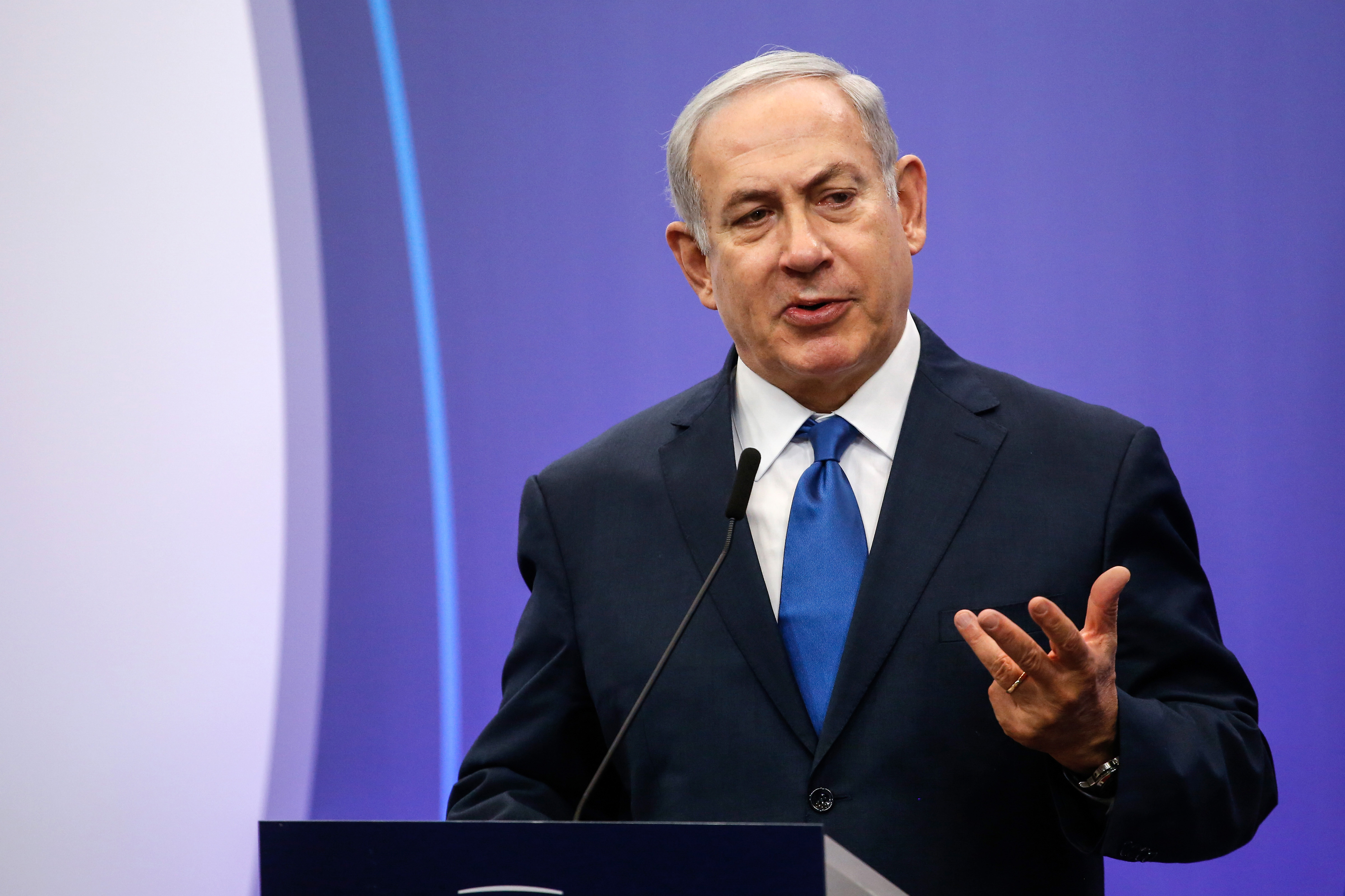 Benjamin Netanyahu, primer ministro de Israel(Bloomberg photo by Dario Pignatelli)