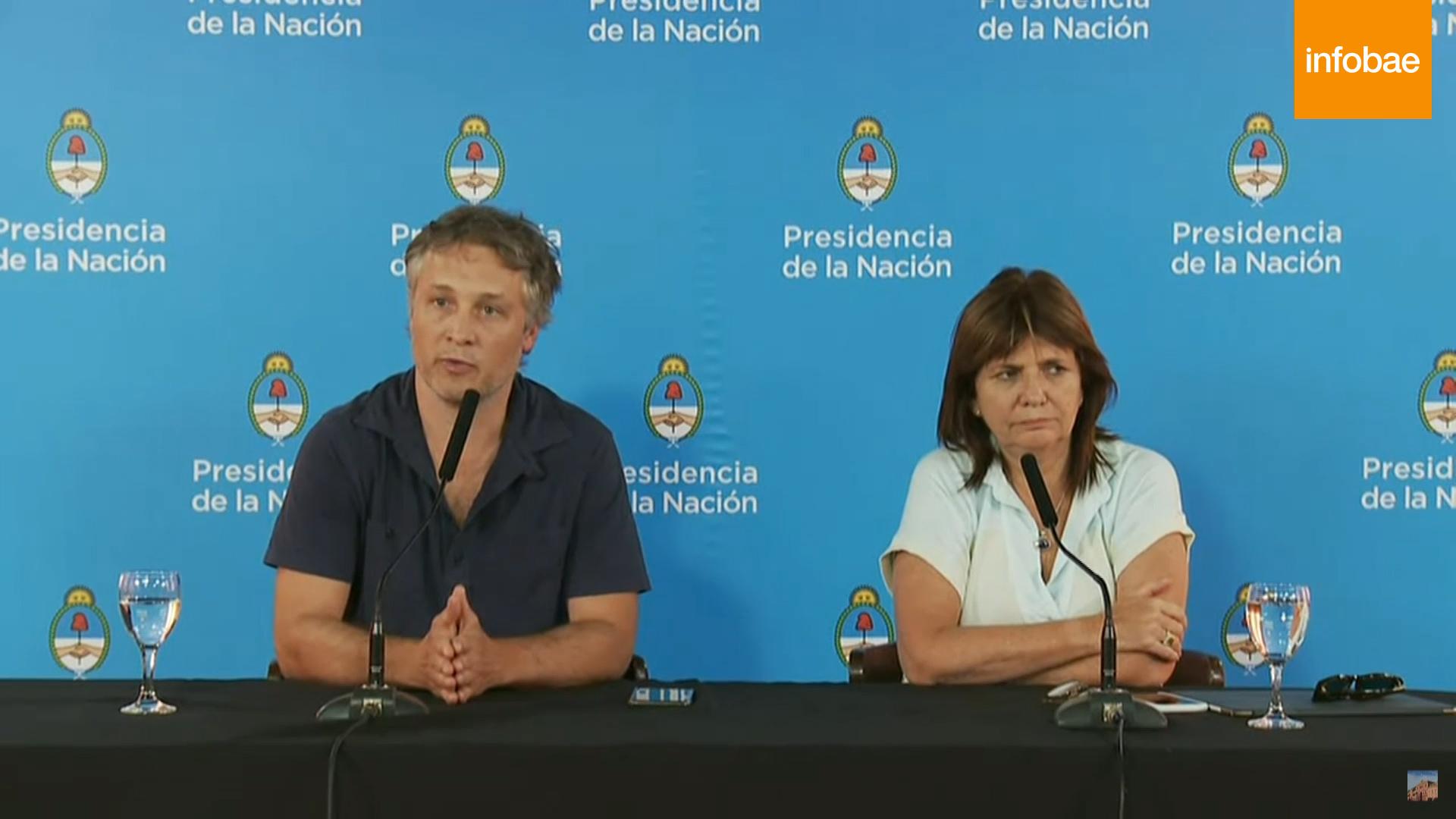 Fernando De Andreis defendió a Diaz Gilligan en una conferencia de prensa en Chapadmalal