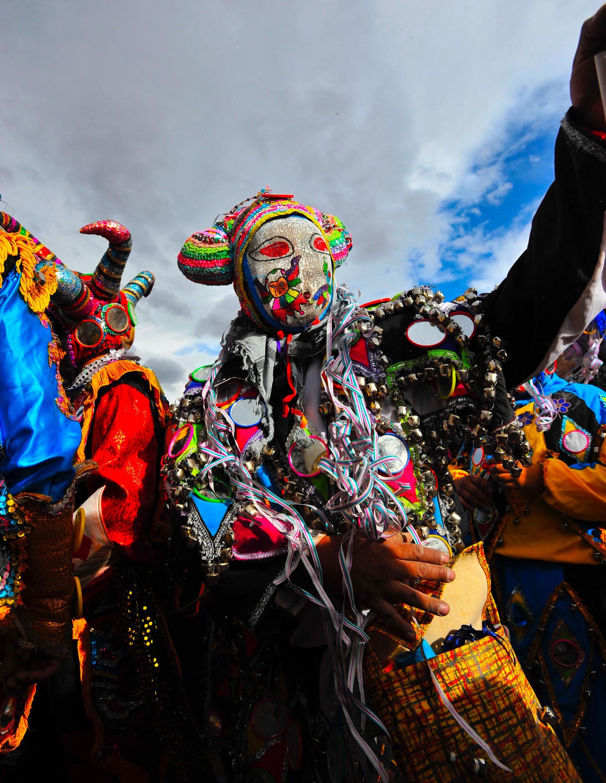 El desentierro del diablo marca el inicio del carnaval andino