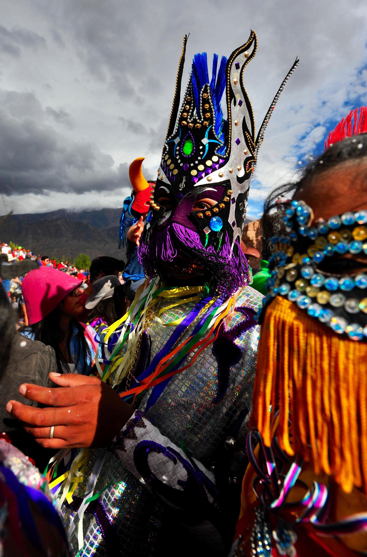 La localidad jujeña de Uquía se encuentra a 10 kilómetros de Humahuaca