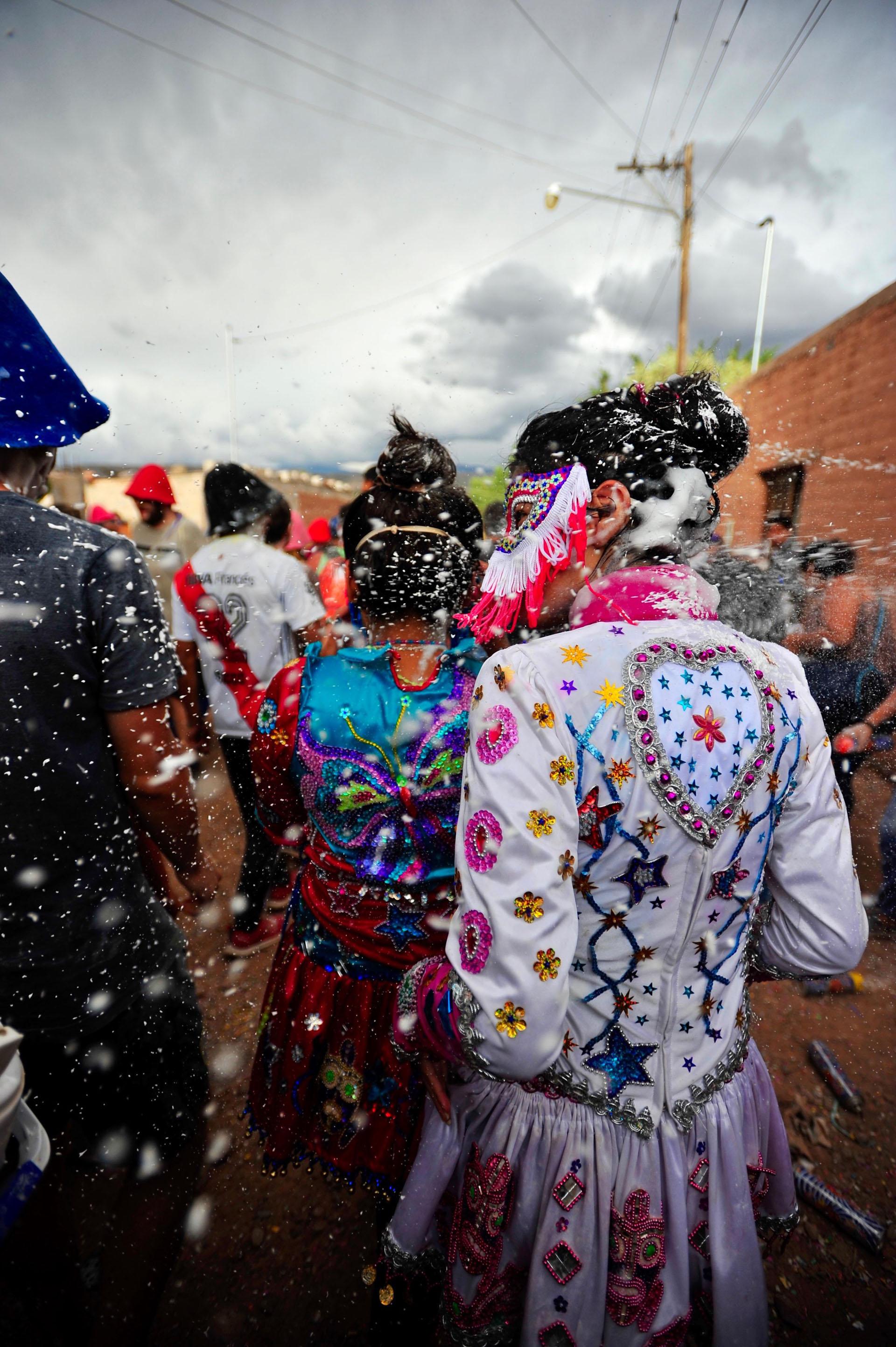 Con apenas 4000 habitantes, Maimará recibe a miles de turistas durante los días de carnaval