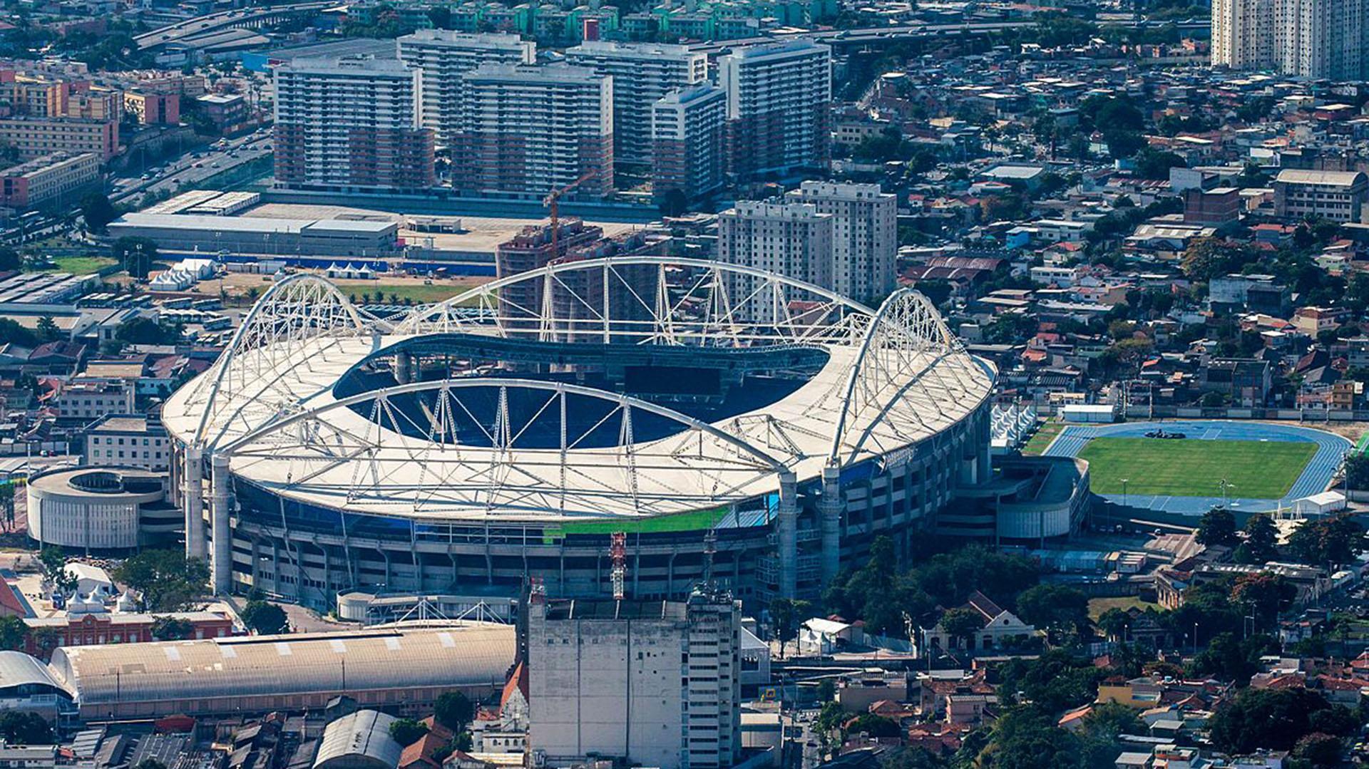 """El """"Engenhao"""" tiene capacidad para 47 mil personas pero lucirá vacío en Flamengo-River"""