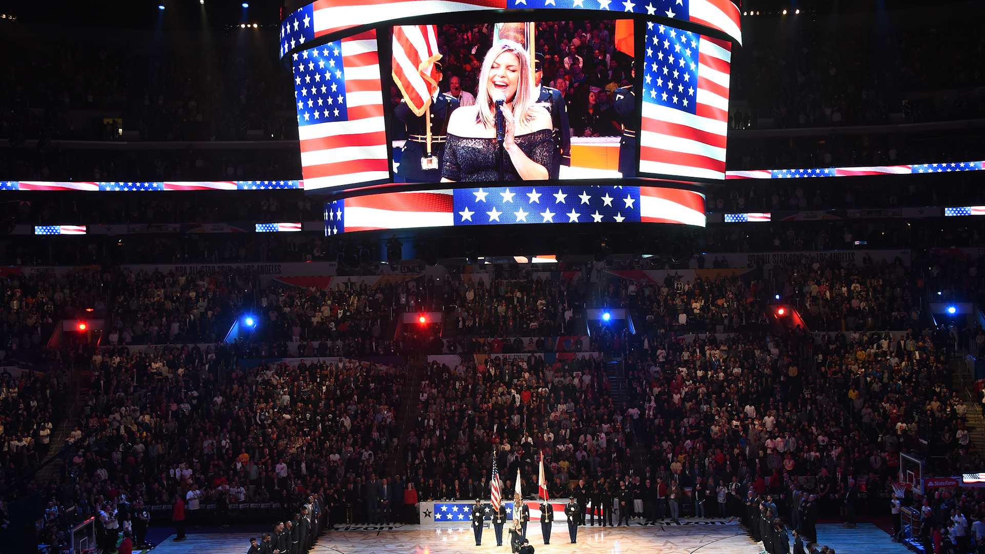 El himno de Fergie