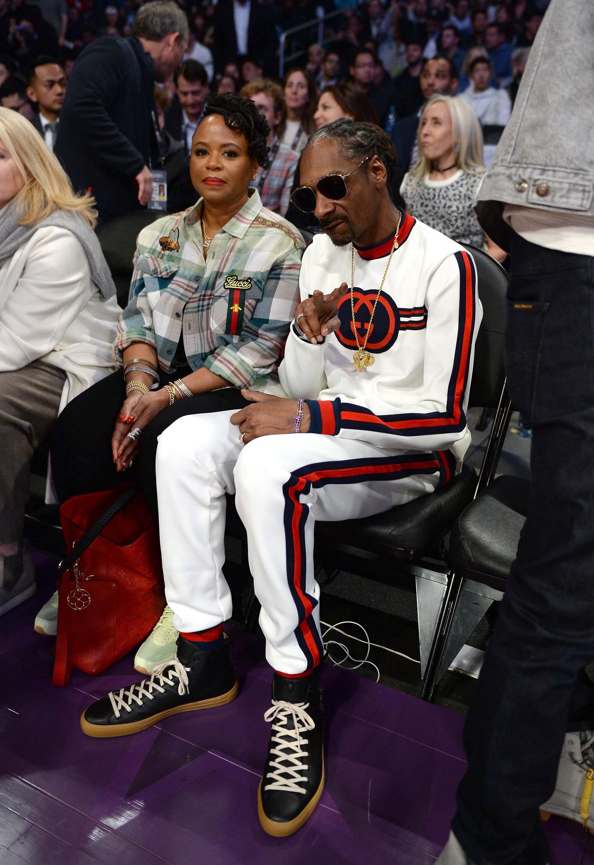 Snoop Dog, también presente