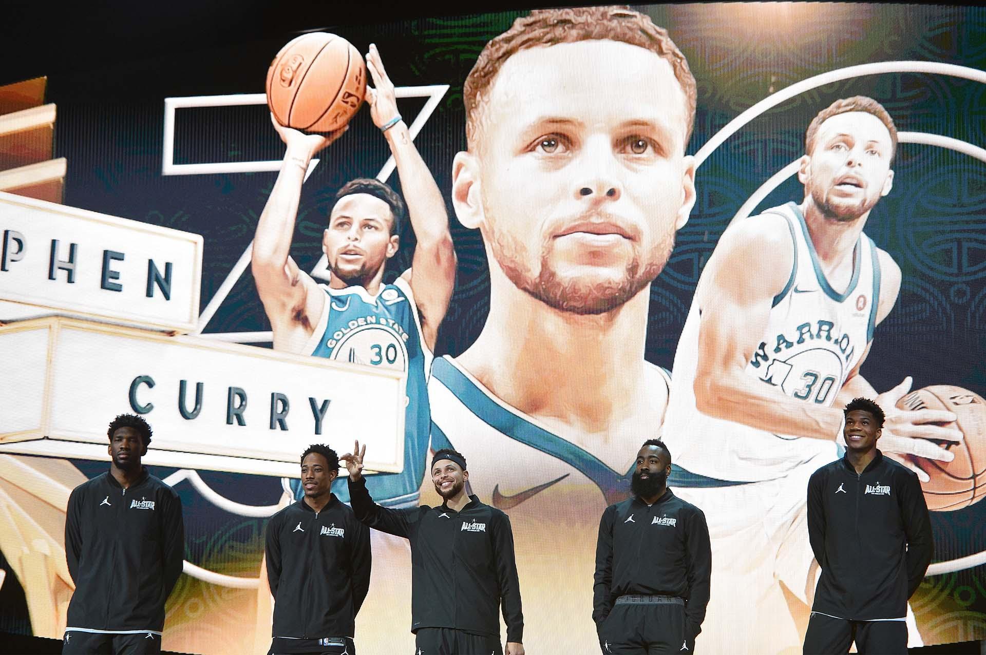 El equipo de Stephen Curry
