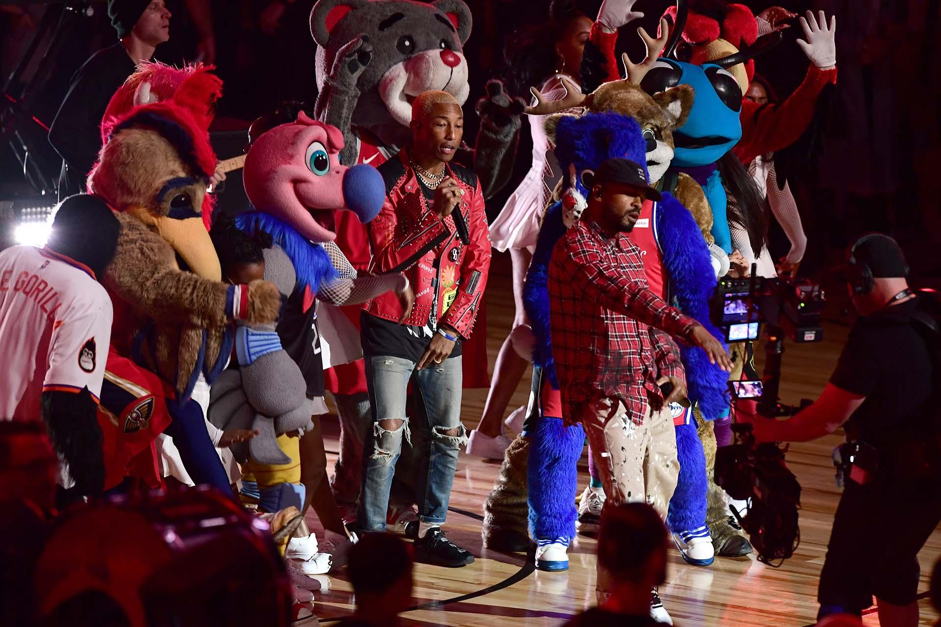 N.E.R.D. le pone música a la NBA