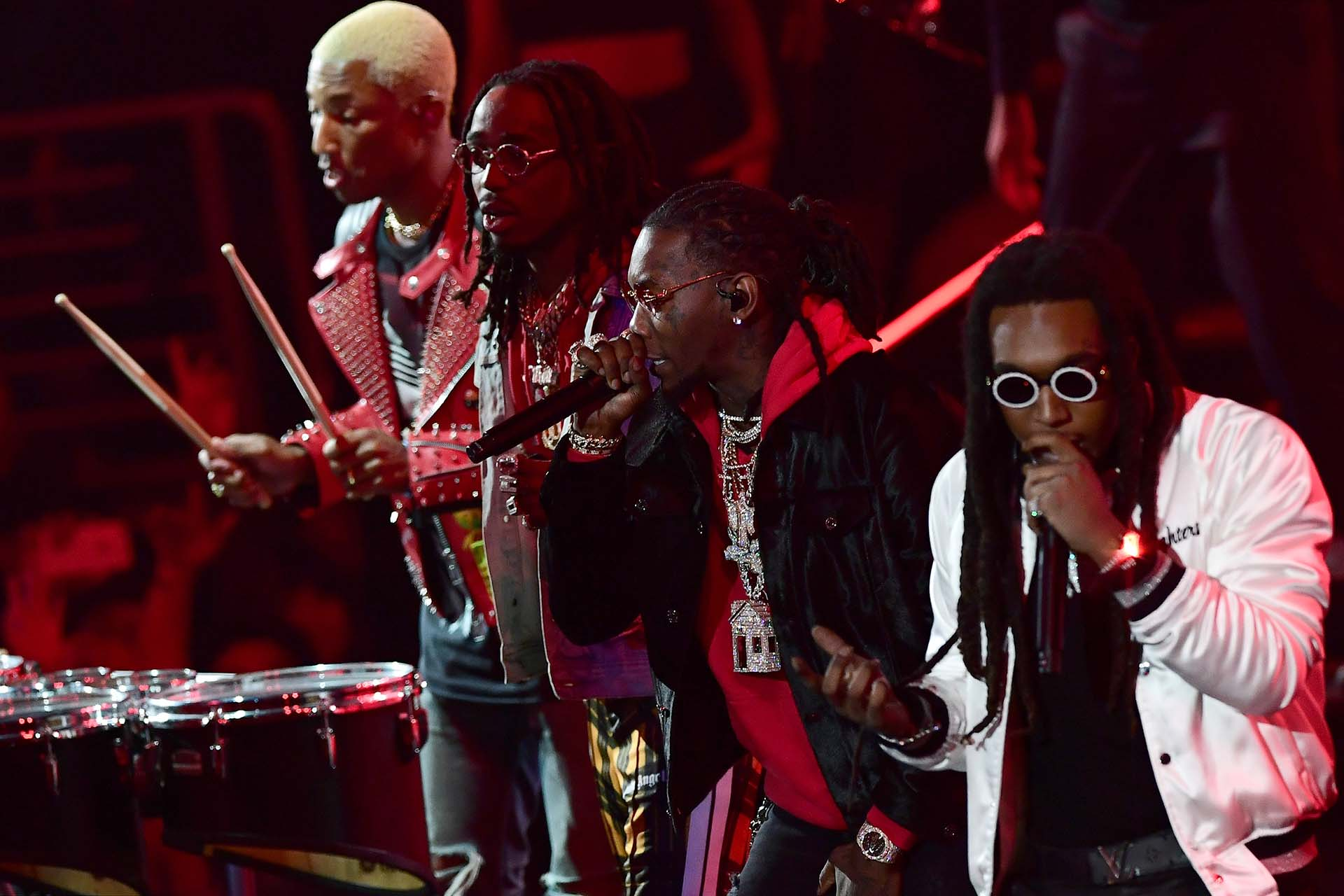 Migos canta en el show del All Star Game