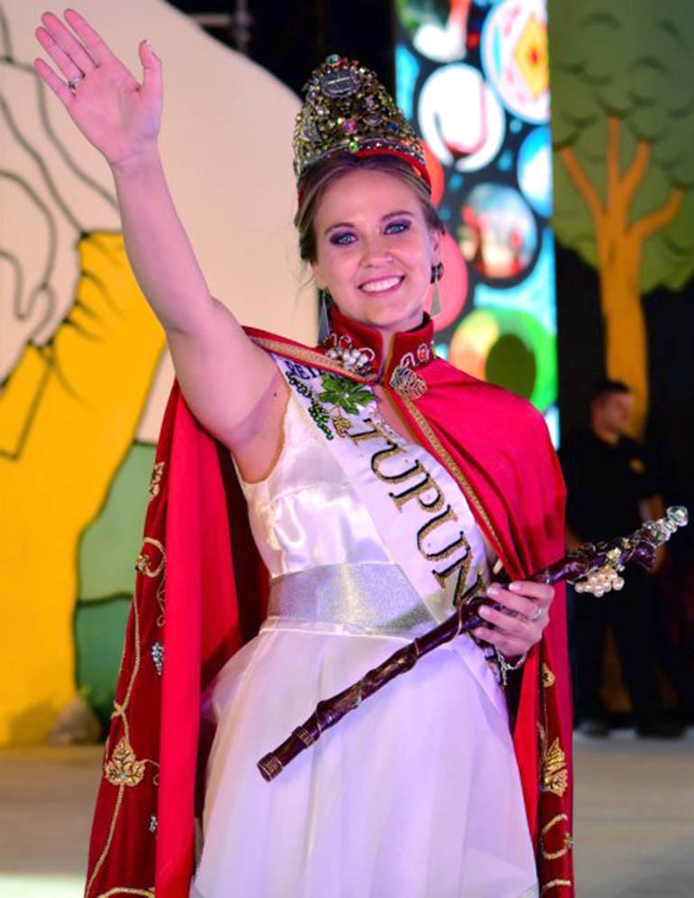 Reina de la Vendimia María Jose Di Marco SF 2