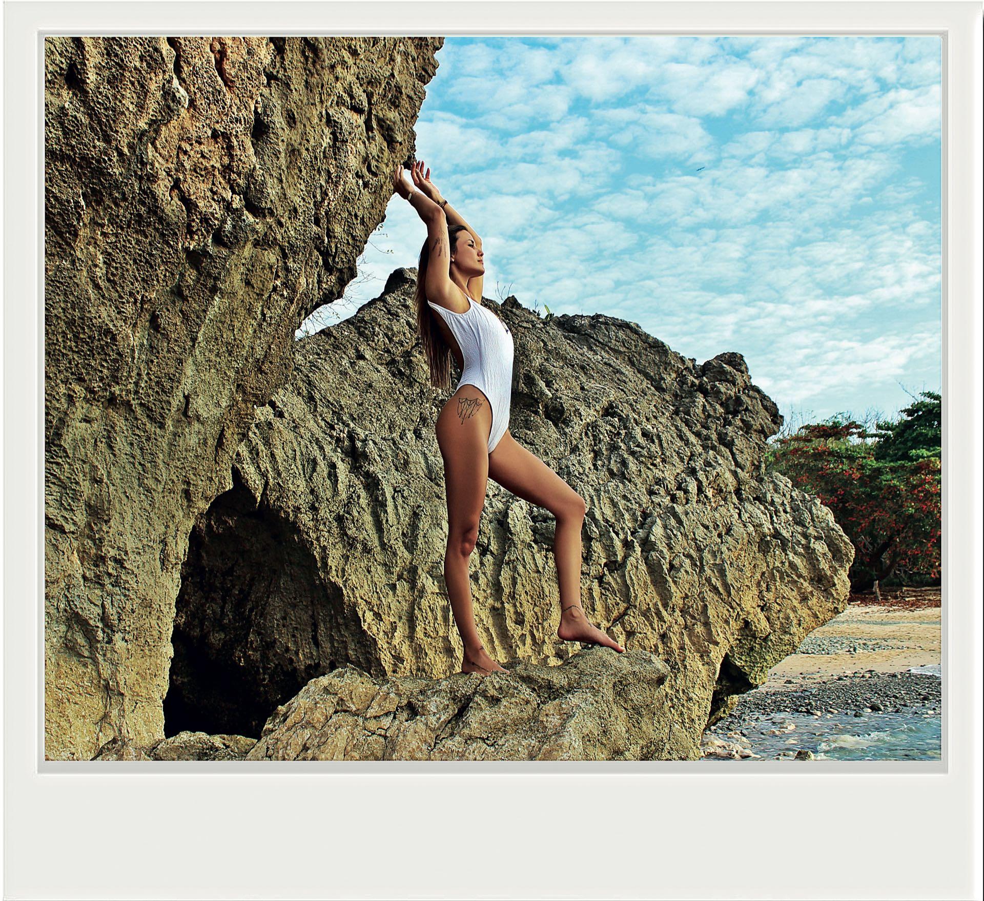 Luli Fernández viajó a Los suecos en Costa Rica por unos días de relax (Fotos: @CamposLolita)