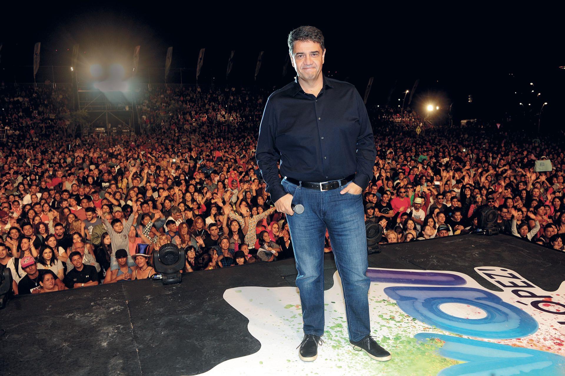 """Jorge Macri: """"Queremos menos grasa política, para tener un Estado más musculoso""""(Foto: Fabián Mattiazzi/GENTE)"""