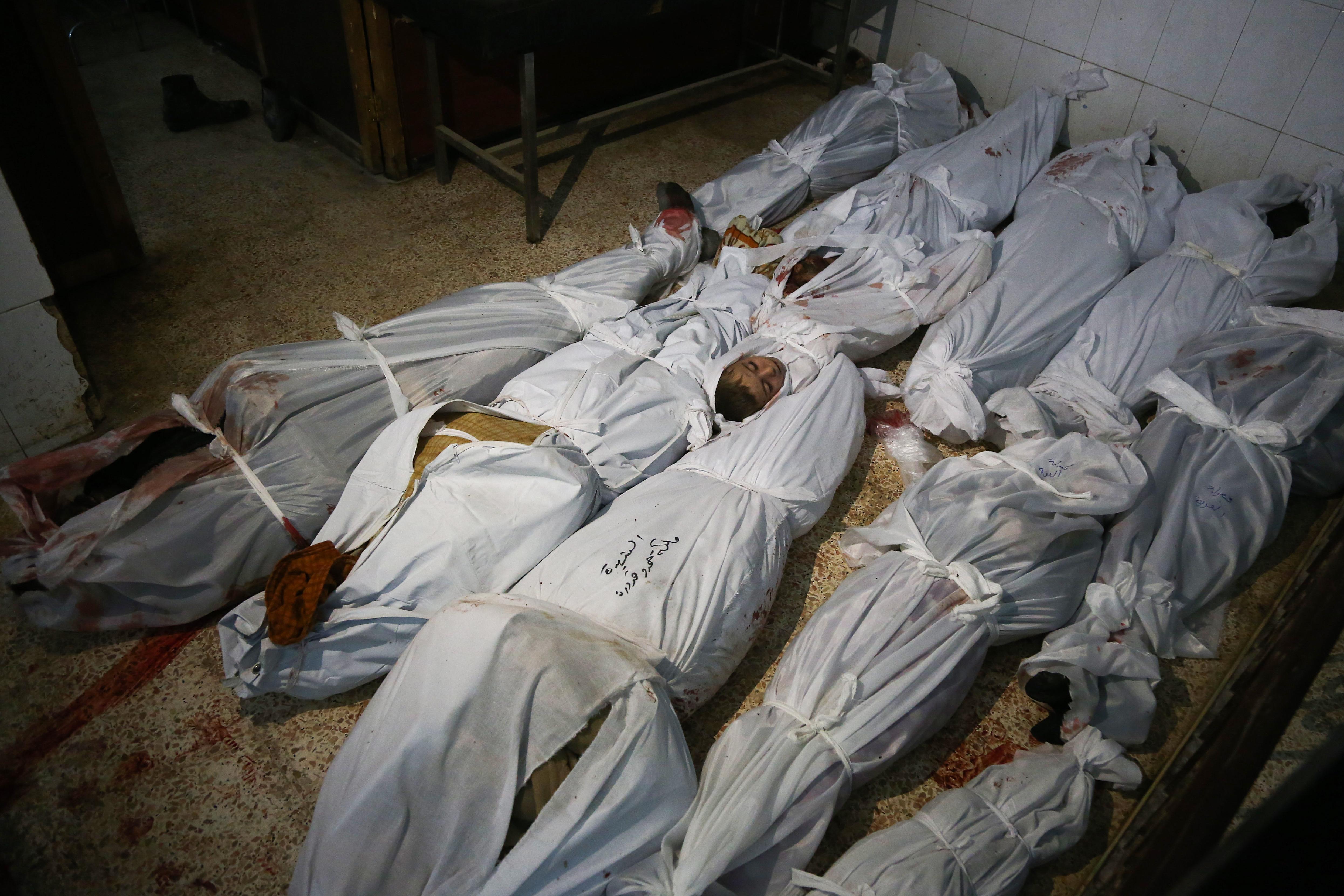 Casi 200 civiles han perdido la vida en los dos últimos días (AFP)