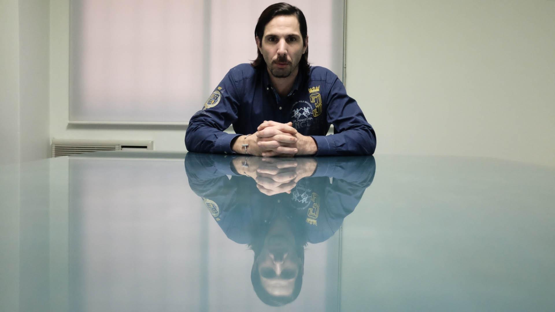 """Javier Bazterrica, conocido mediáticamente como """"El gigoló"""", tendrá que afrontar un juicio por estafa en el que le pidieron tres años. (Adrián Escandar)"""