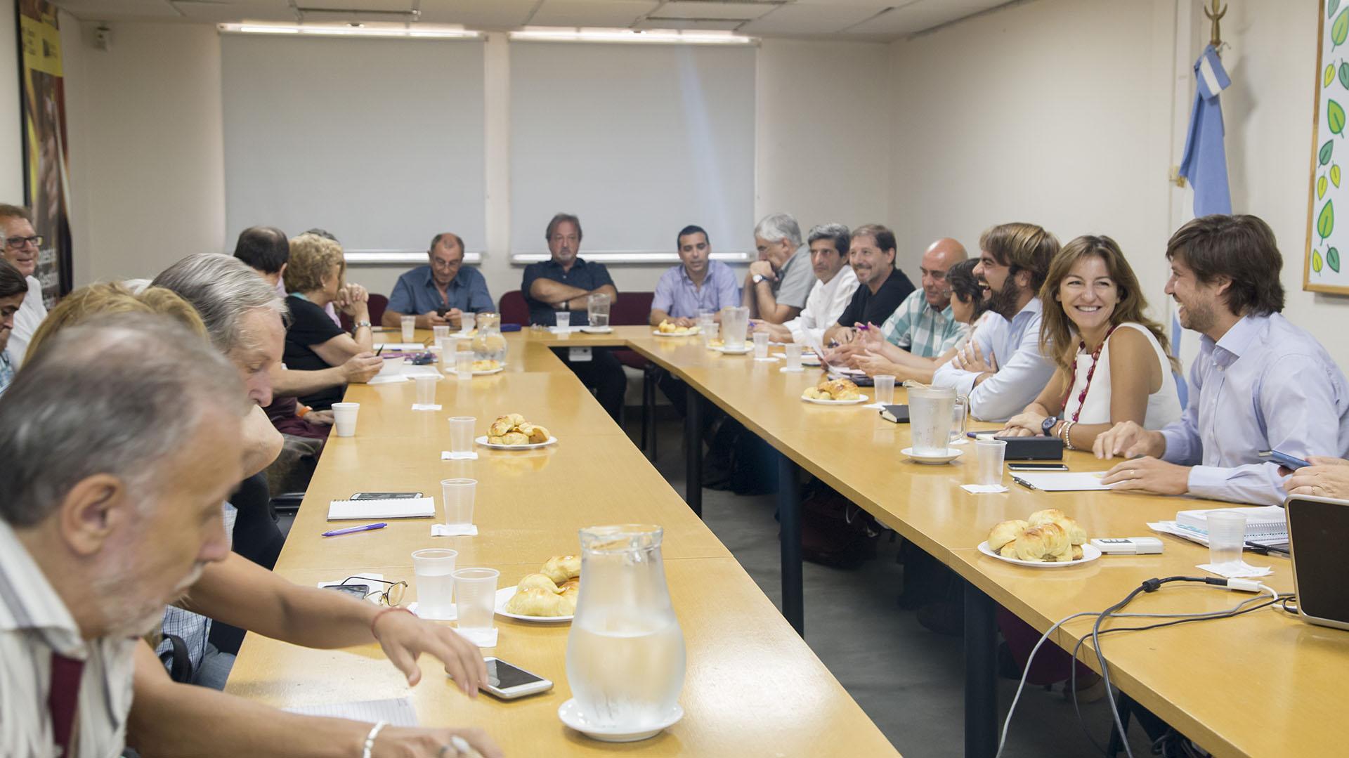 Ayer fue la segunda reunión paritaria