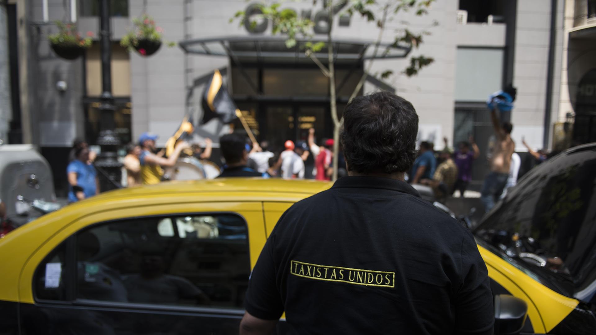 Camisa de Taxistas Unidos