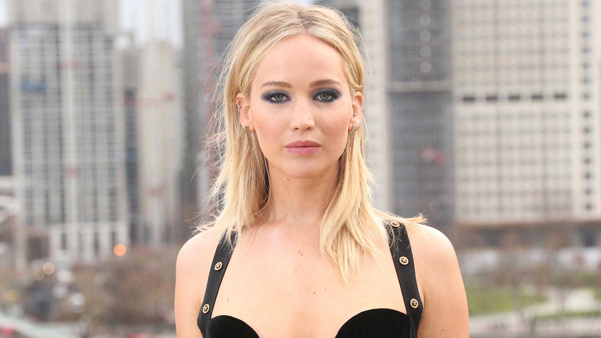 Jennifer Lawrence dijo que quiere ver a Harvey Weinstein en la cárcel. (AP)