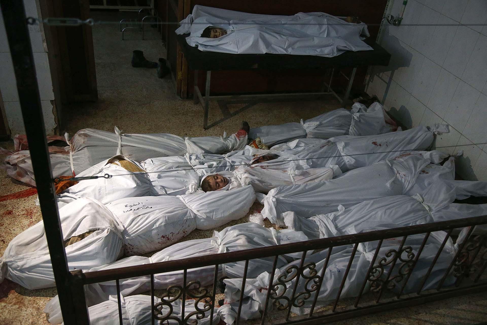 La dictadura de Al Assad está provocando una masacre en Guta Oriental (AFP)
