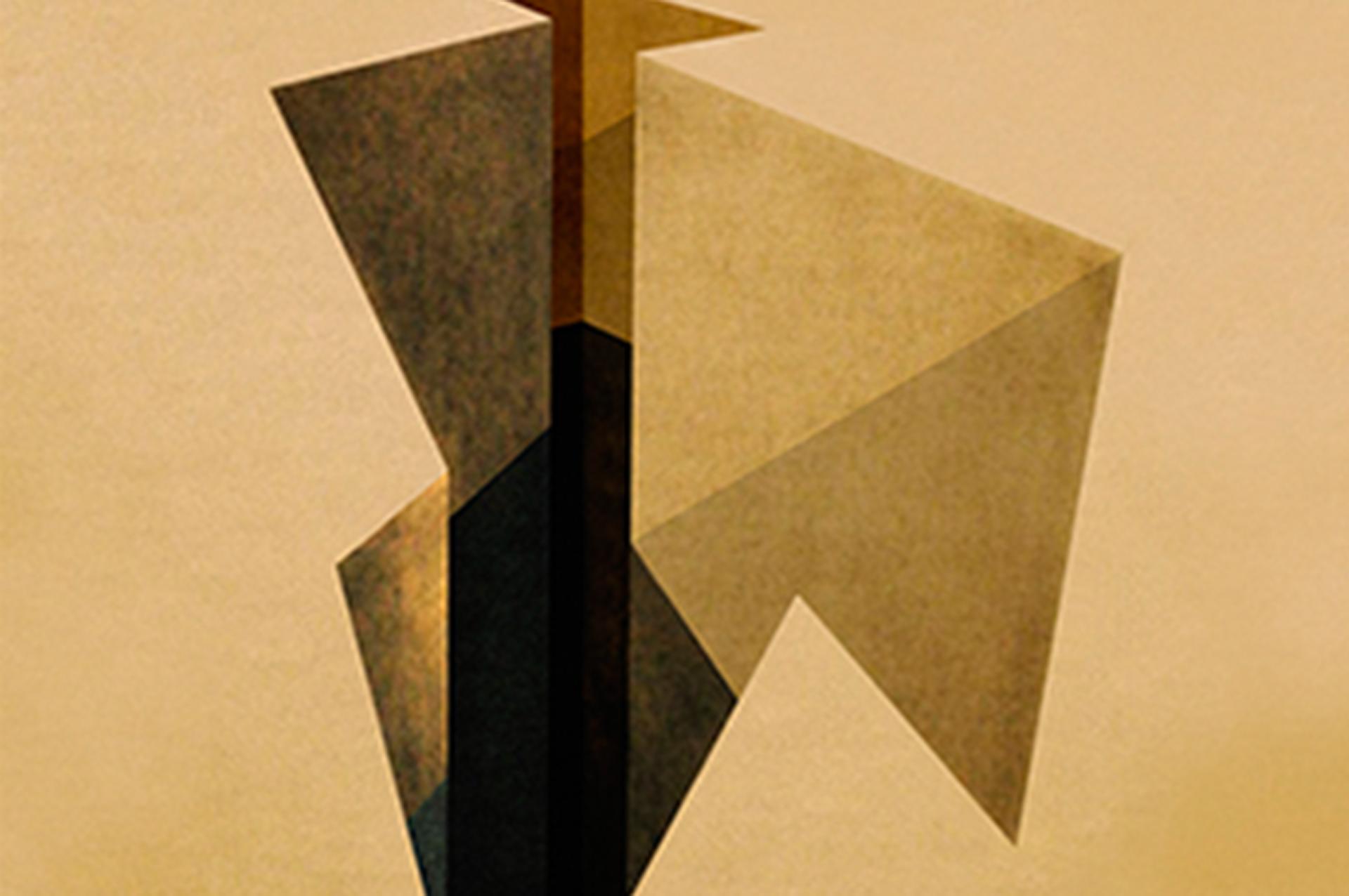 """Recorrido programado por el propio Jorge Miño de la exposición """"Geometrías derivadas"""""""