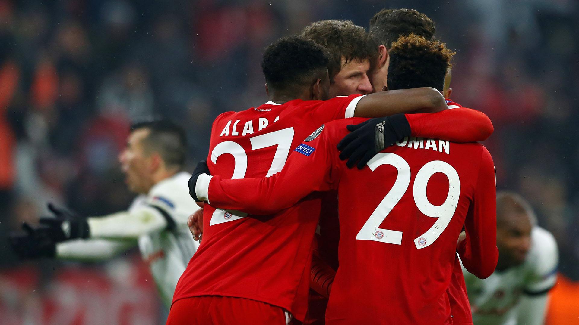 Bayern viene de golear al Besiktas en octavos de final (Reuters)