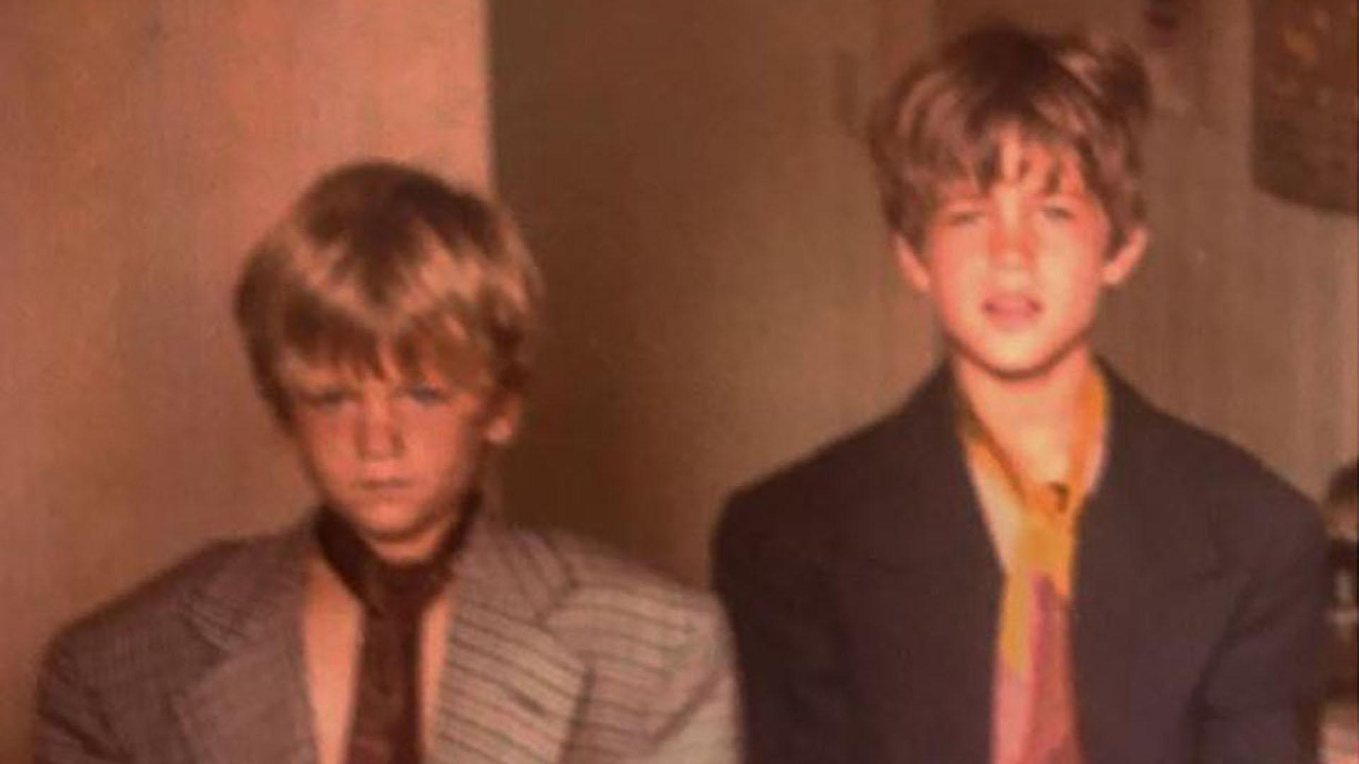 ¿Quiénes son estos jóvenes hermanos, hoy reconocidos actores?