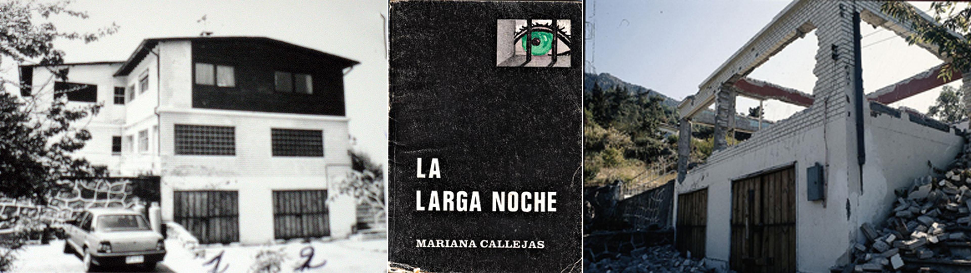 La casa de Callejas (Canales, en la novela de Bolaño), ayer y hoy