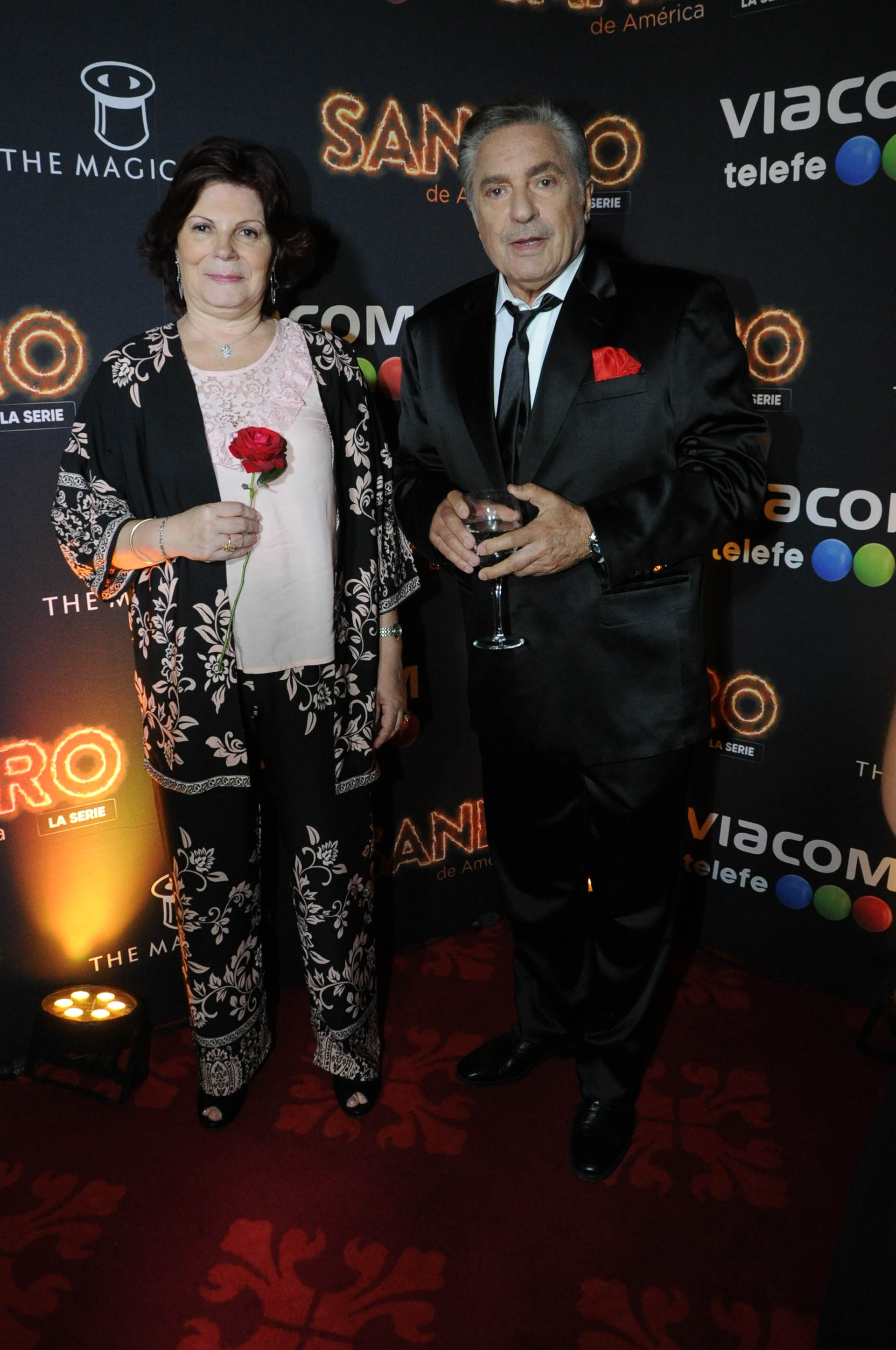 Olga Garaventa y Antonio Grimau