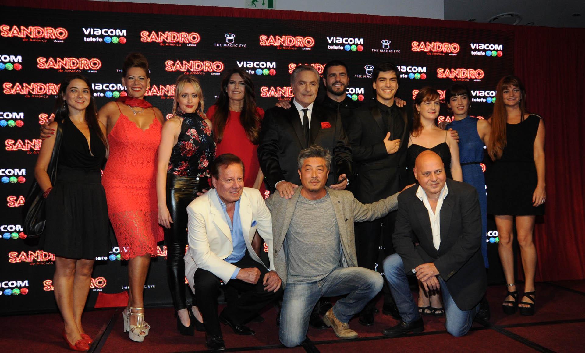 Todo el elenco de Sandro de América