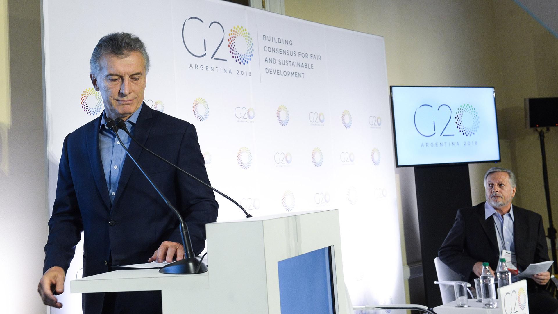 Argentina tiene tres prioridades en el G20, el futuro del trabajo, infraestructura para el desarrollo y un futuro alimentario sostenible