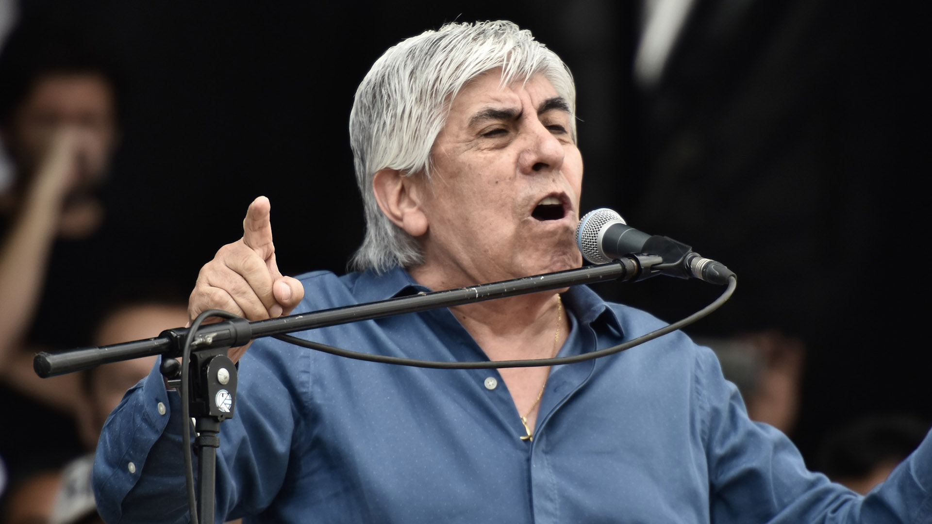 Hugo Moyano (Adrián Escandar)